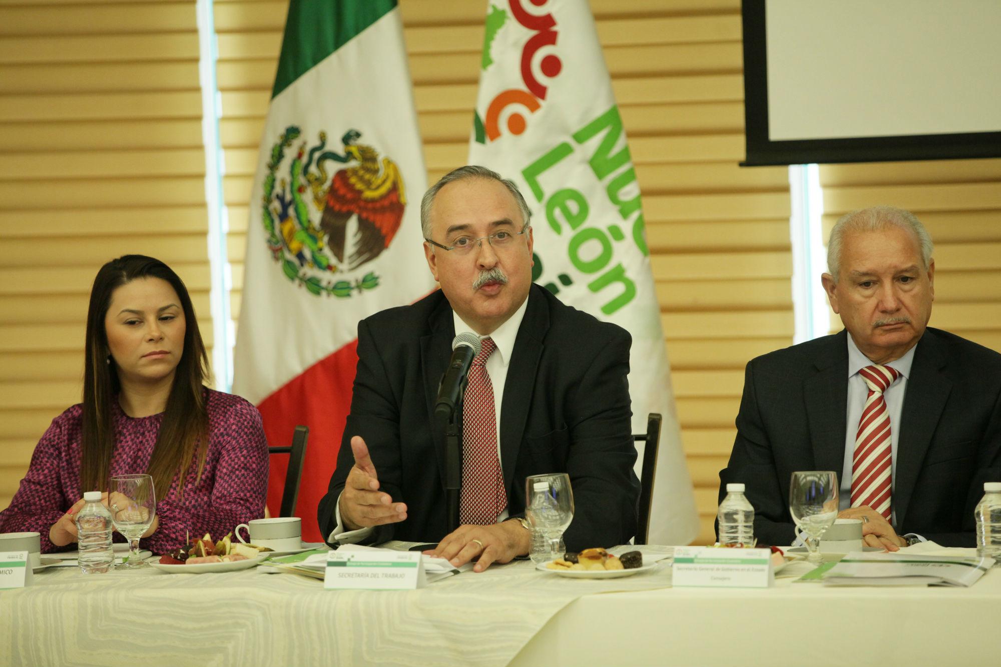 Secretario del Trabajo del Estado de Nuevo León