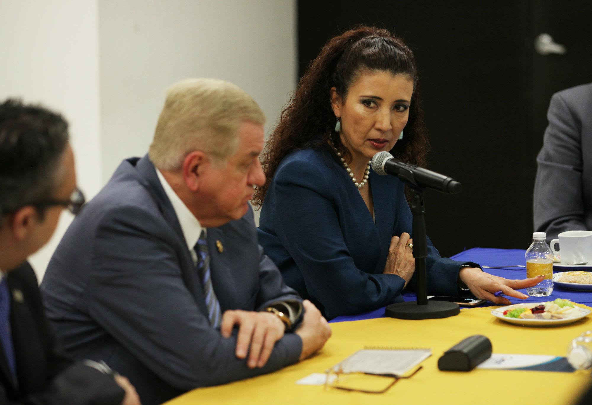 Dra. Luz Natalia Berrún Castañón, de la OMENT