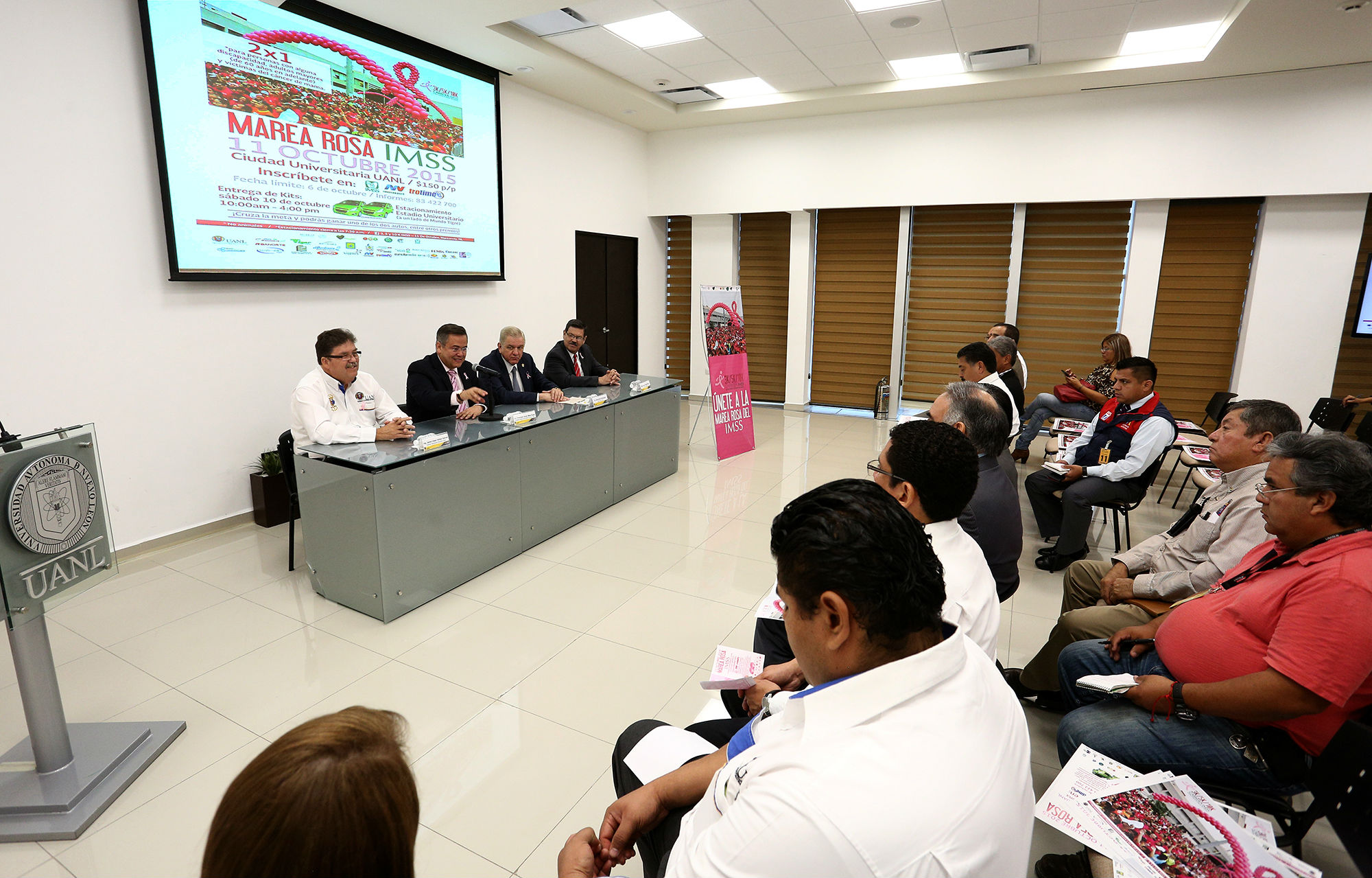 La carrera Marea Rosa será de 3, 5 y 10 kilómetros en un circuito dentro de Ciudad Universitaria