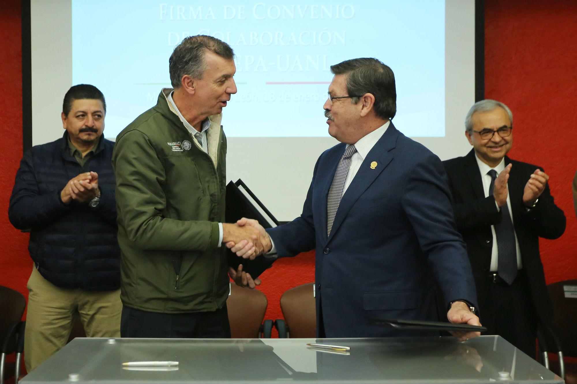 La dependencia federal tiene estrecha colaboración con la UANL