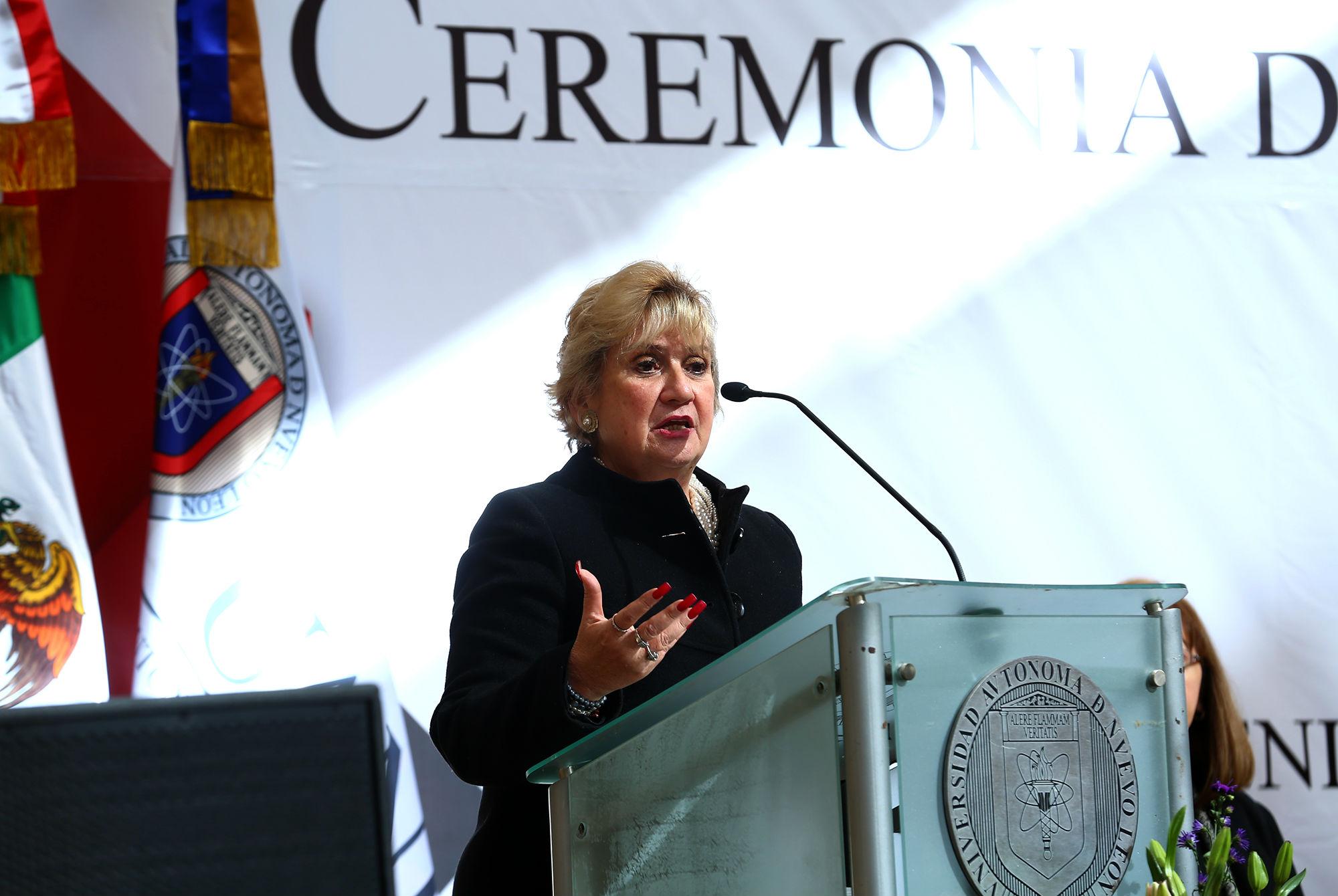 María Elena Barrera Bustillos, Directora del CACEI y representante de ABET