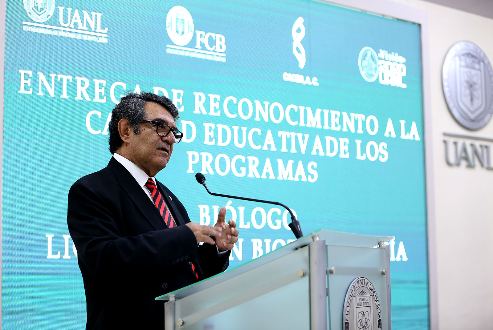 Eduardo Zarza Meza, Presidente del Comité de Acreditación y Certificación de la Licenciatura en Biología