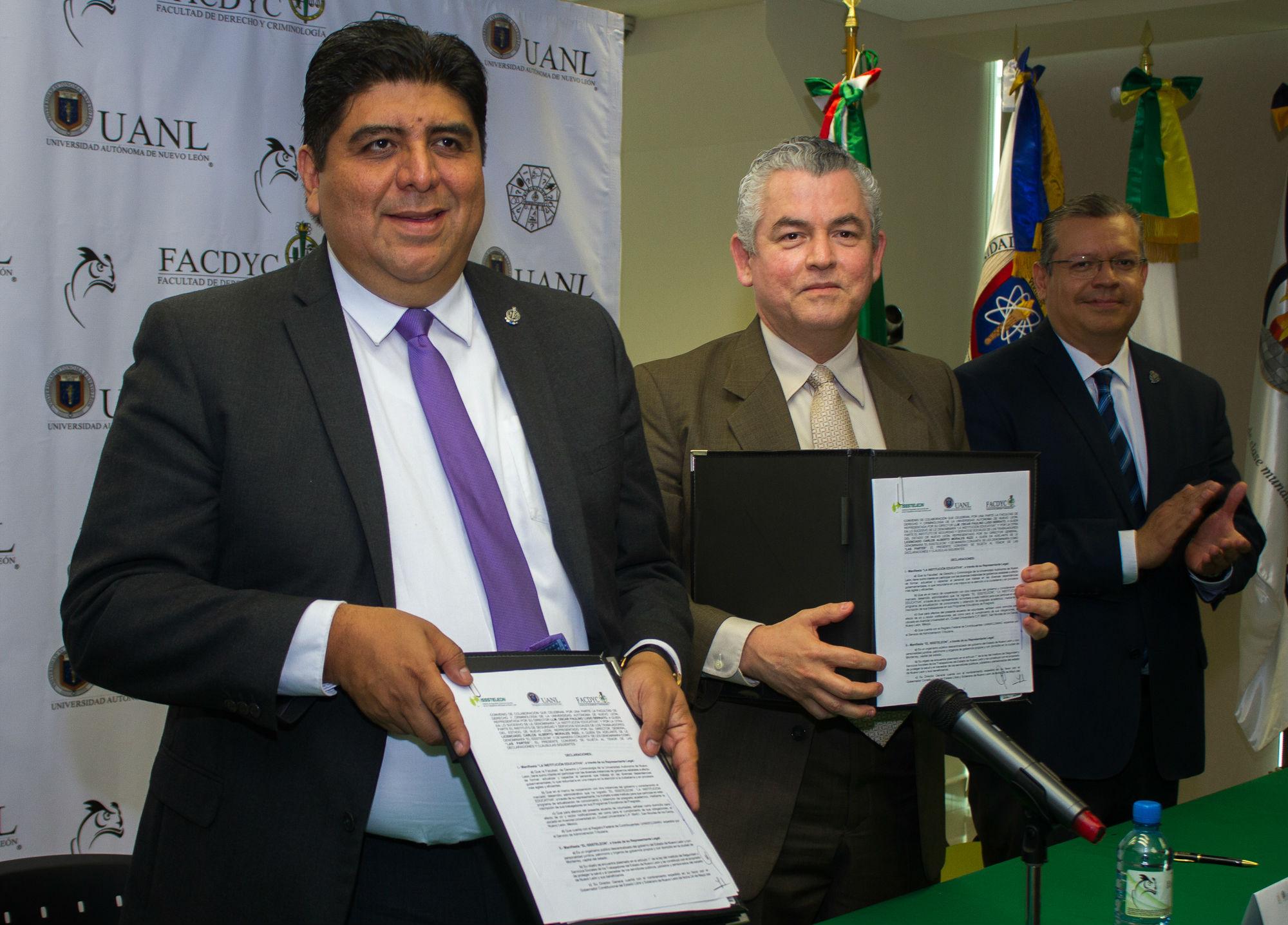La UANL formalizó lazo académico con el Instituto de Seguridad y Servicios Sociales de los Trabajadores del Estado de Nuevo León