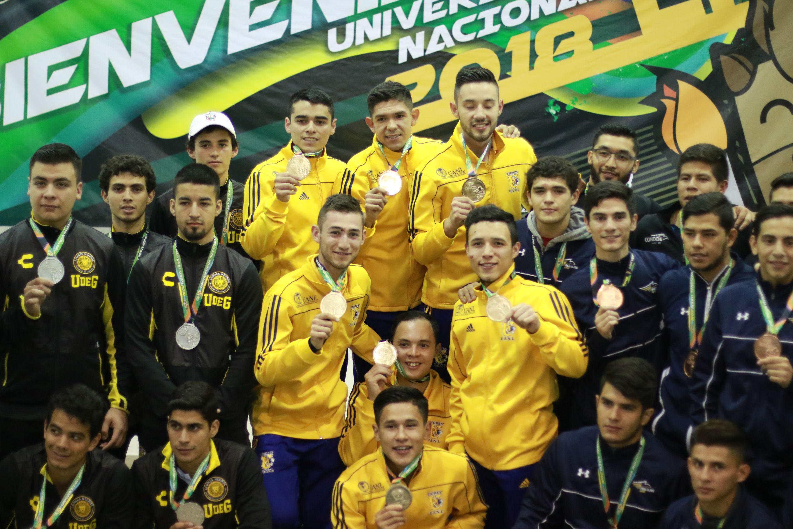 Jesús Rodríguez, el cinco oros