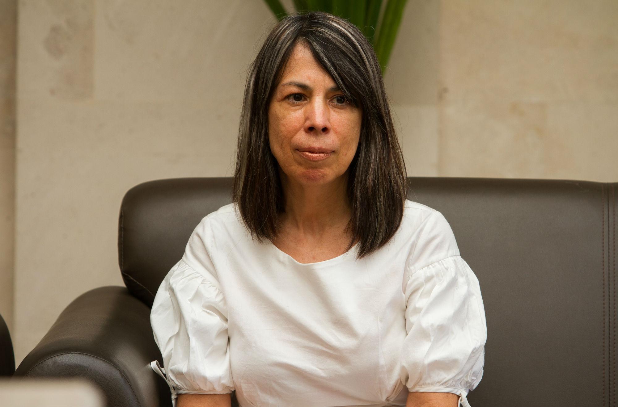 Laura Zúñiga Coronado, profesora de la FTSYDH