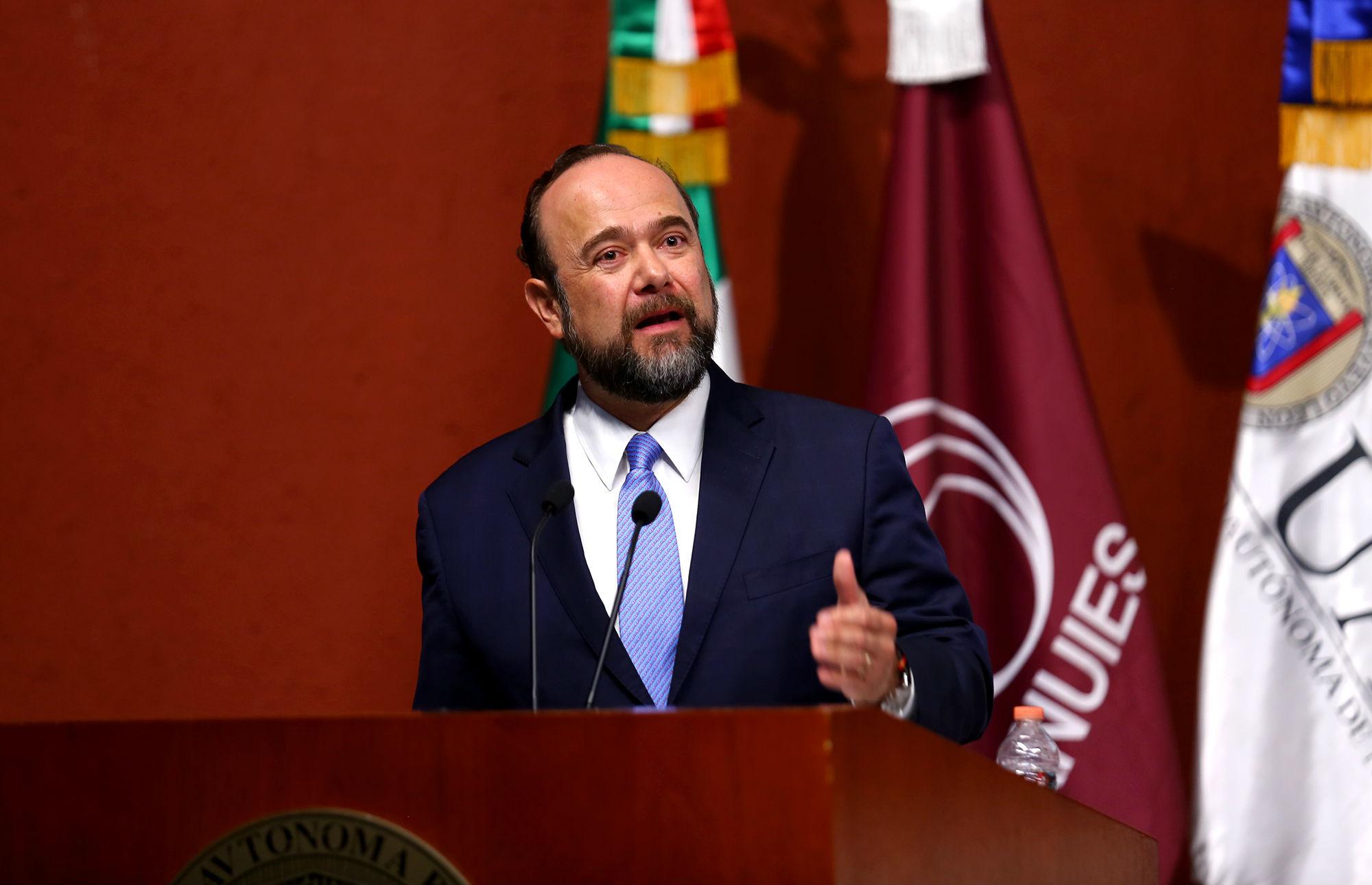 El Secretario General de la ANUIES, Jaime Vals
