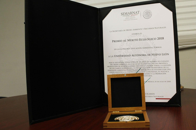 Premio al Mérito Ecológico 2018 en la categoría de Educación Ambiental Formal