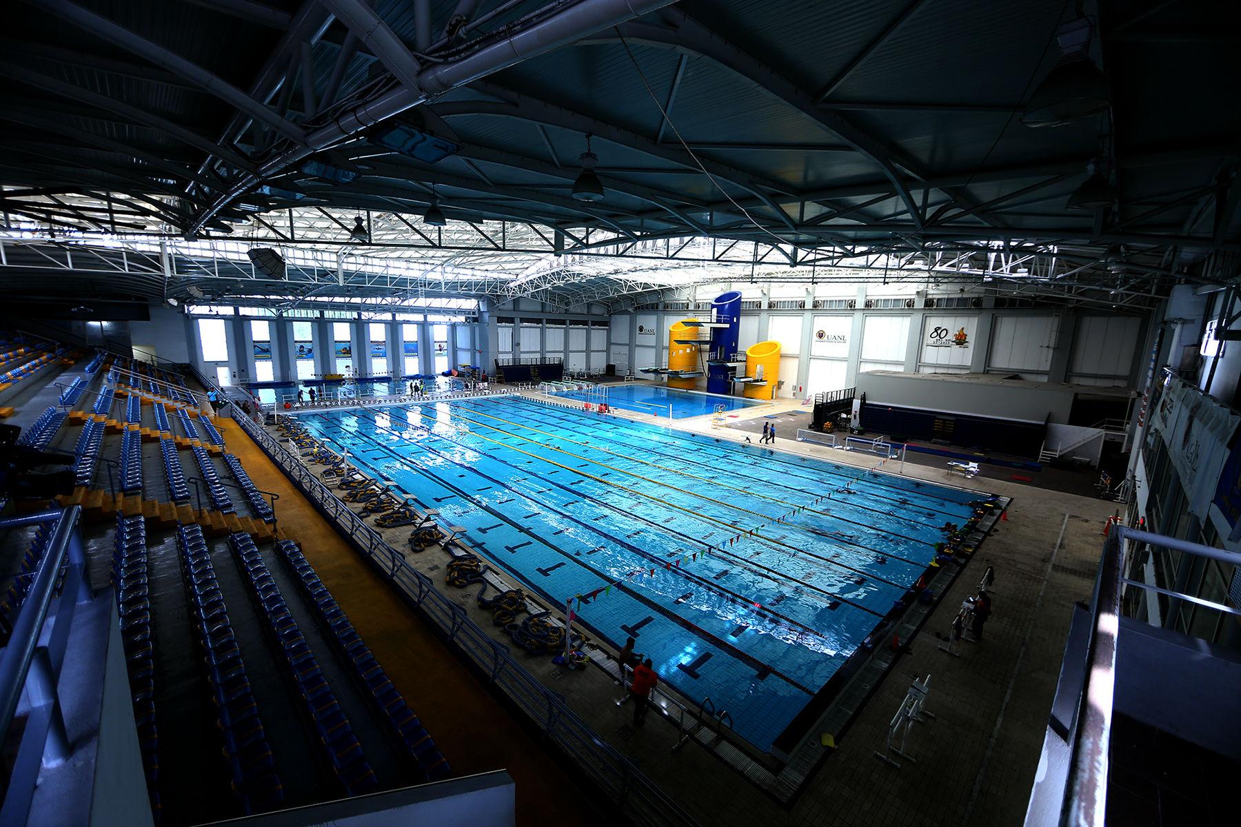 Instalaciones del Centro Acuático Olímpico Universitario