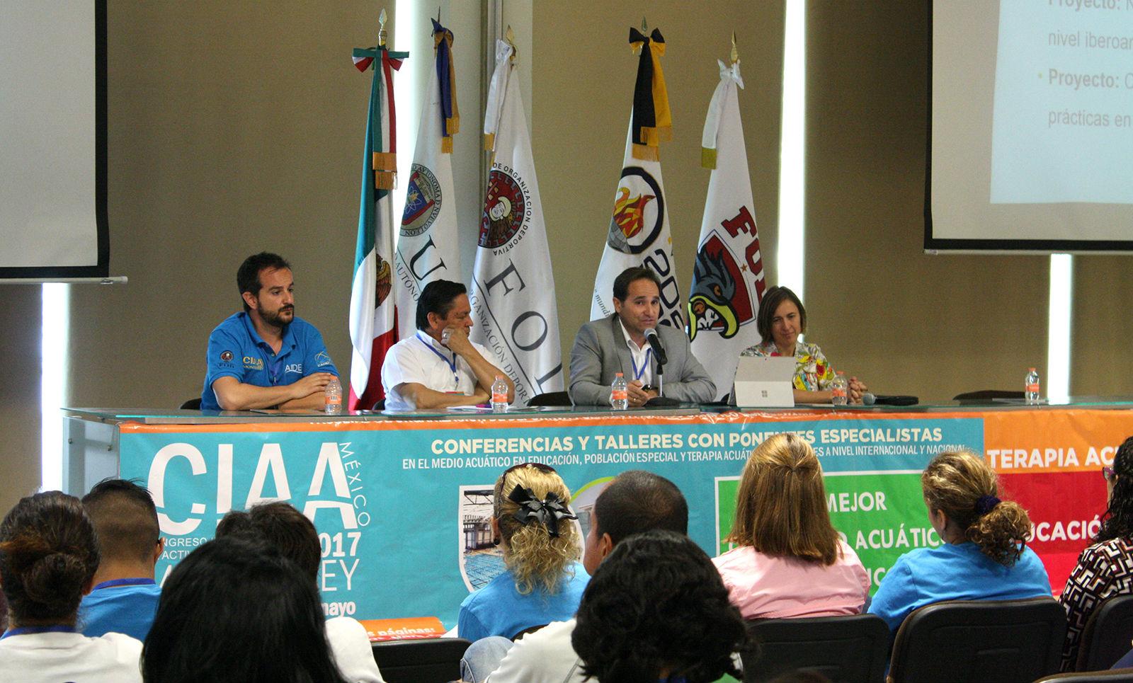 Las actividades académicas se llevarán a cabo en la Facultad de Organización Deportiva