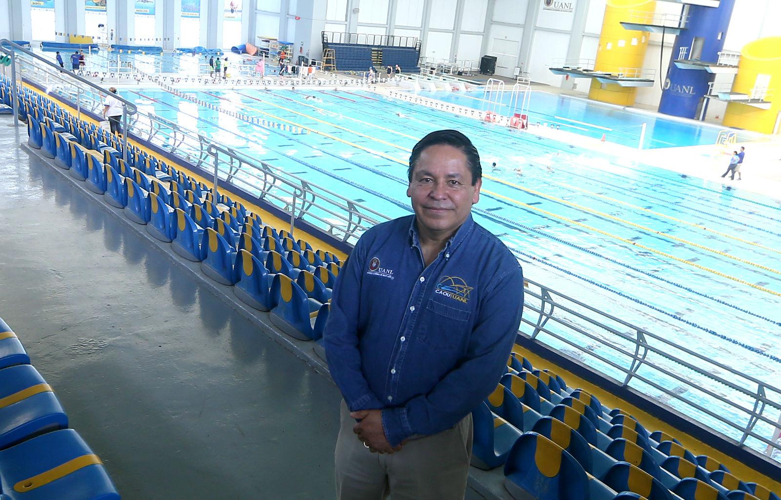Jaime Segura Gómez, Coordinador General del Centro Acuático Olímpico Universitario