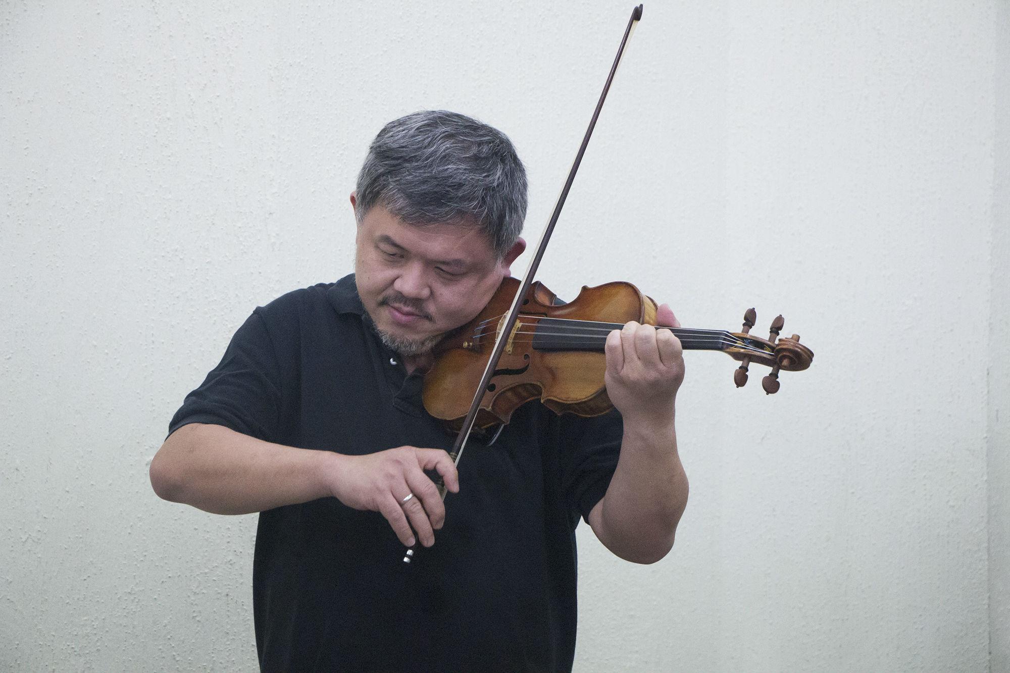 Xiao Dong-Wang, violinista invitado
