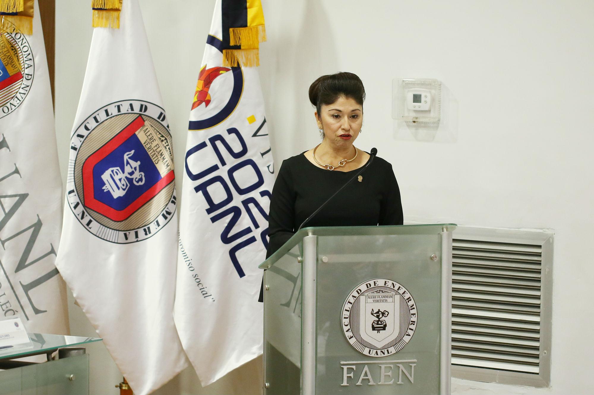 María Diana Ruvalcaba Rodríguez, Directora de la Facultad de Enfermería