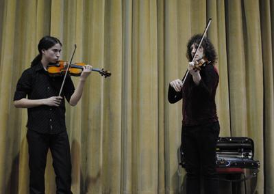 Alexander Markov, violinista nacido en Moscú