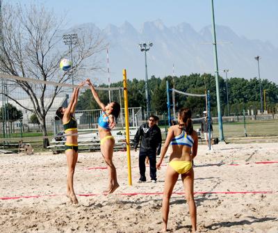 Voleibol de playa en Regional del CONDDE