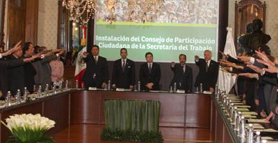 Preside Consejo de Participación Ciudadana de la Secretaría del Trabajo
