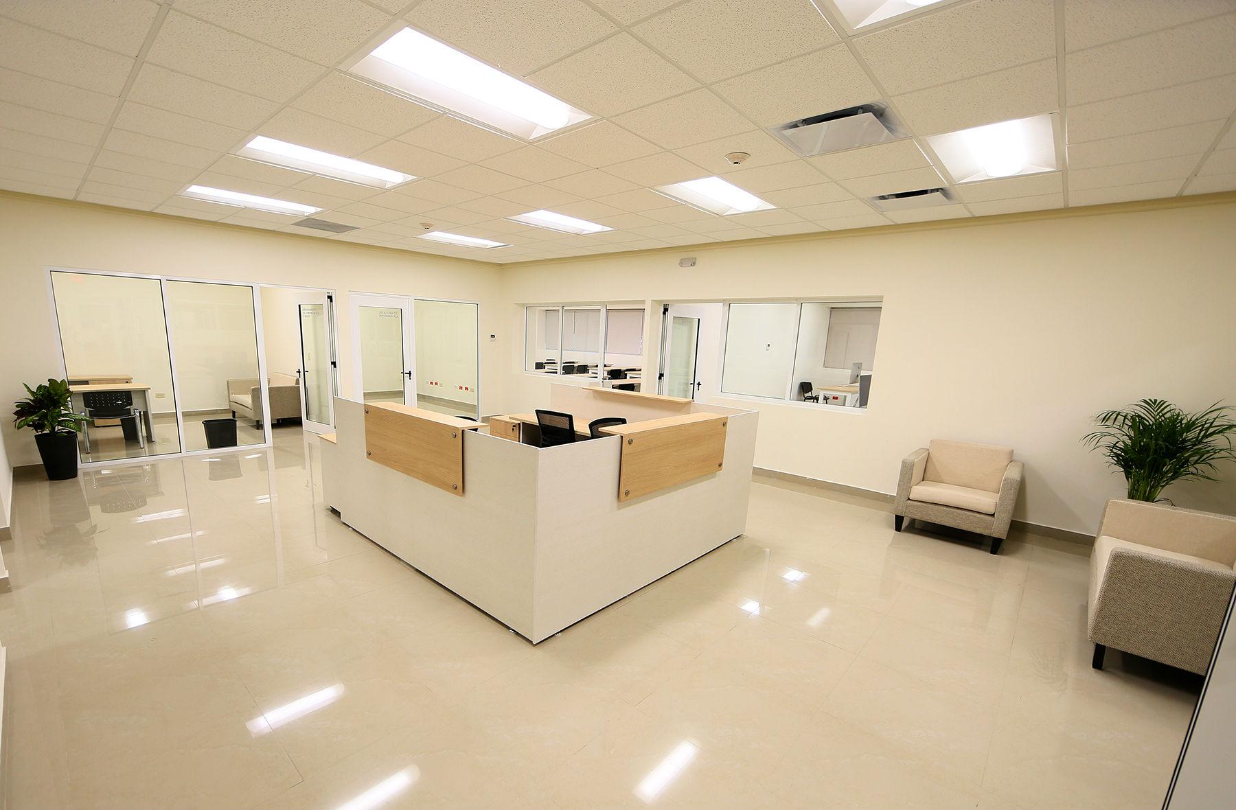 Área administrativa del nuevo edificio