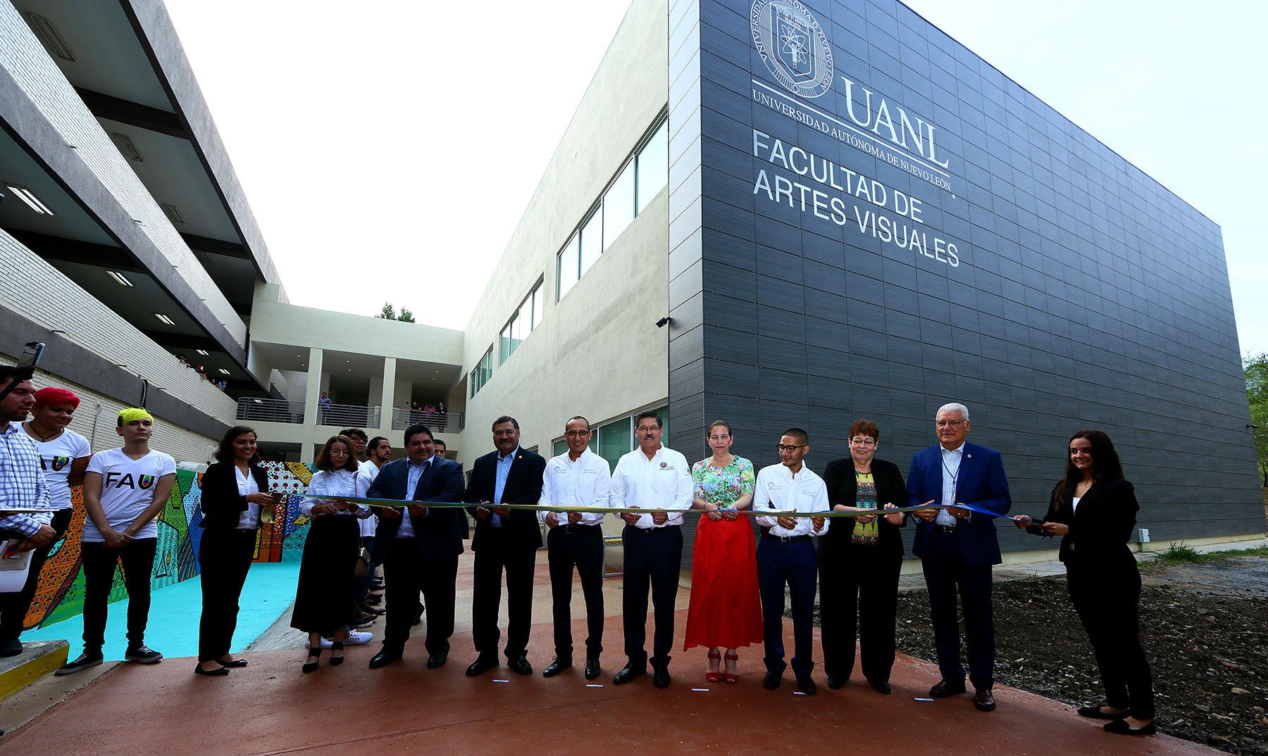 Nuevo edificio de la Facultad de Artes Visuales