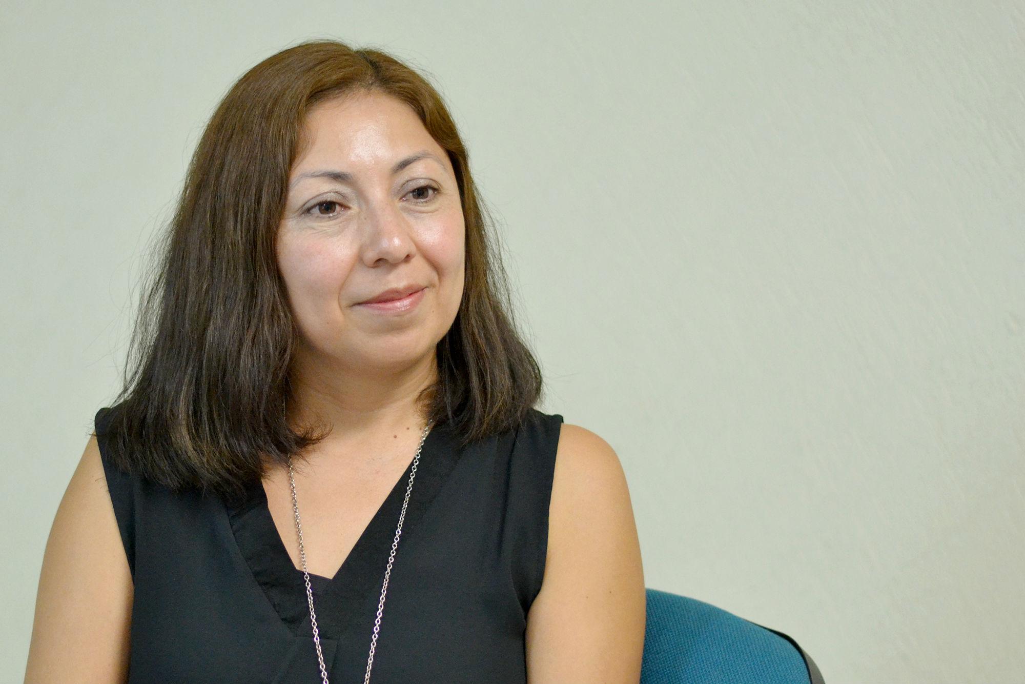 Sagrario Garay Villegas, Profesora de la Facultad de Trabajo Social y Derecho Humano