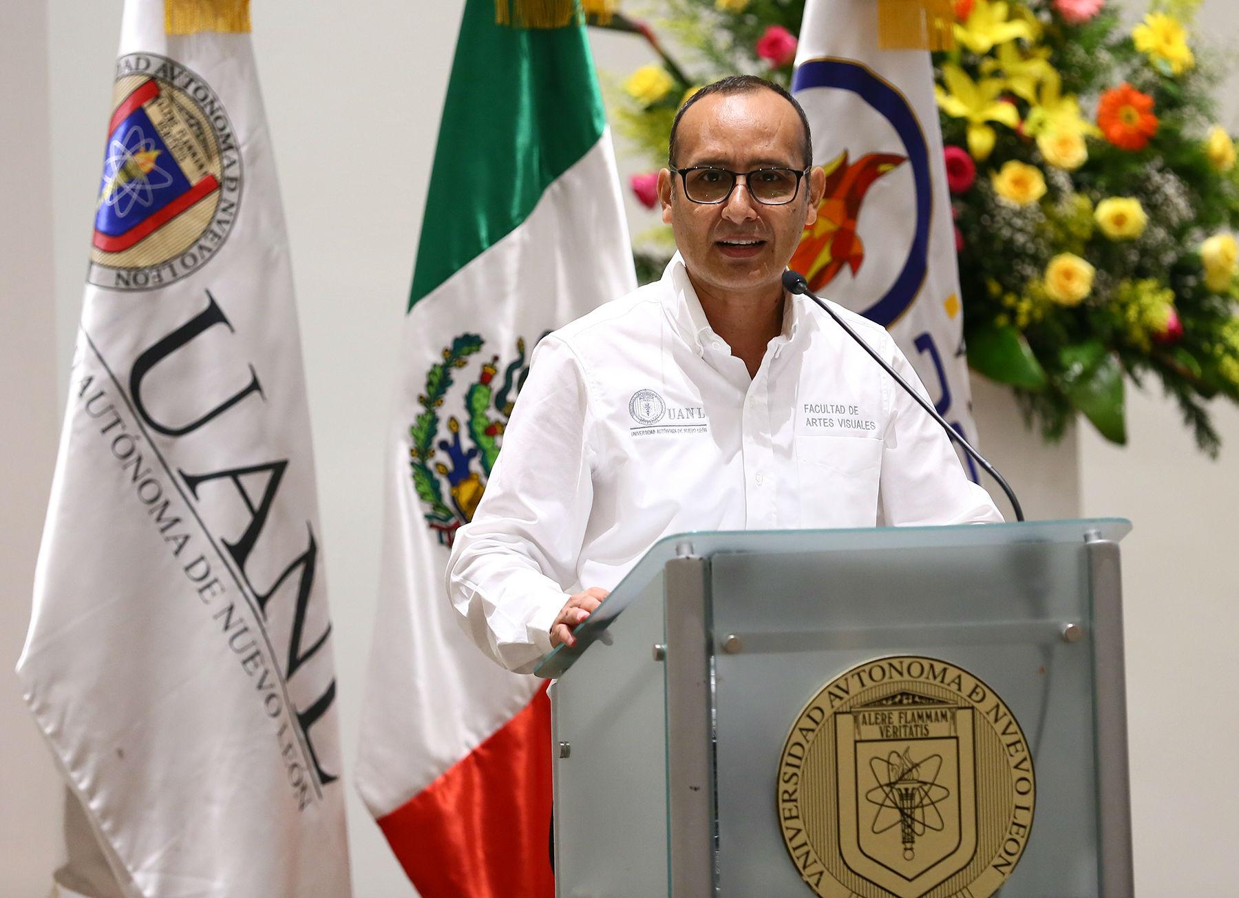 Juan Francisco García Hernández, Director de la Facultad de Artes Visuales