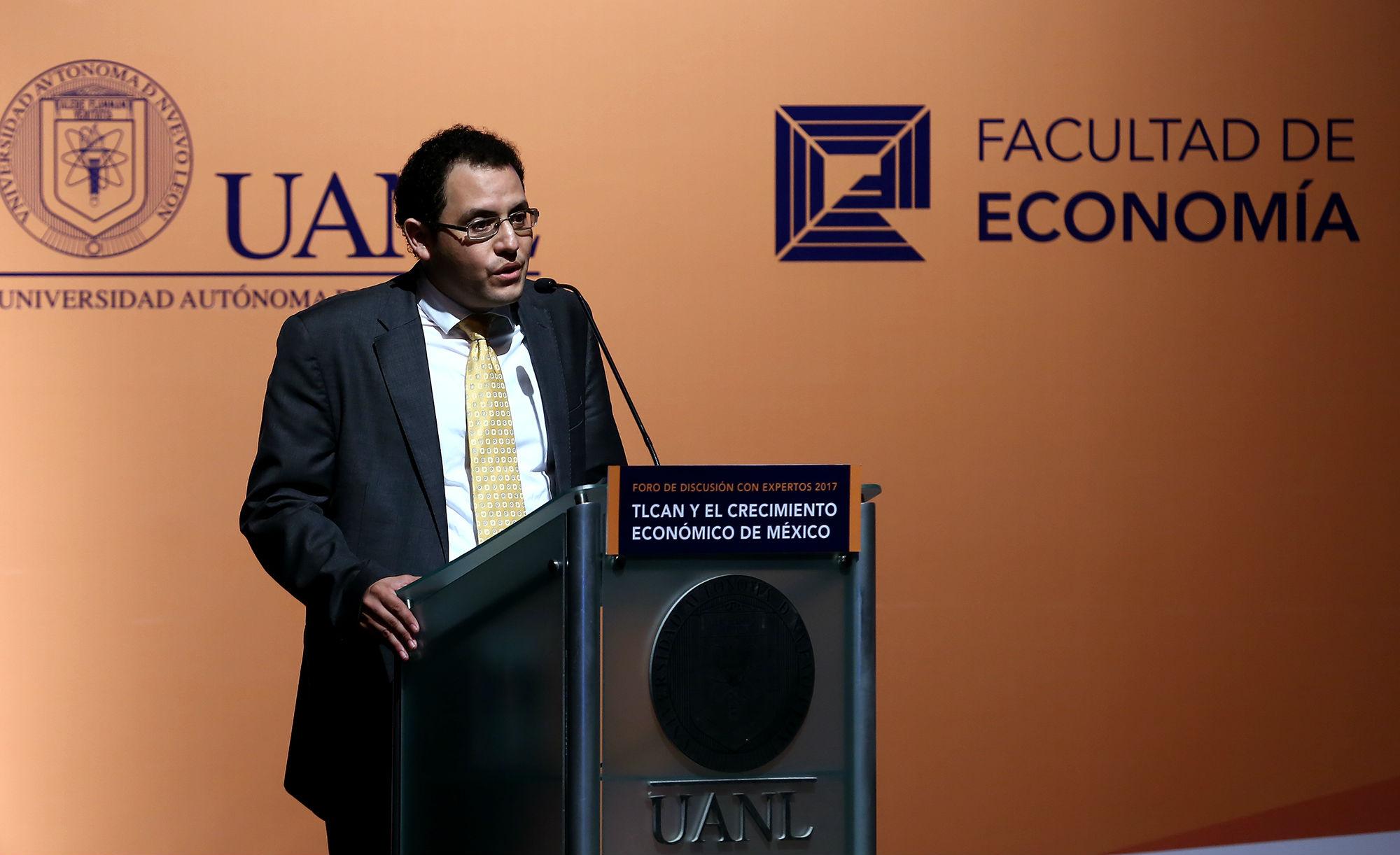 José Raymundo Galán Rodríguez, Director de la Facultad de Economía