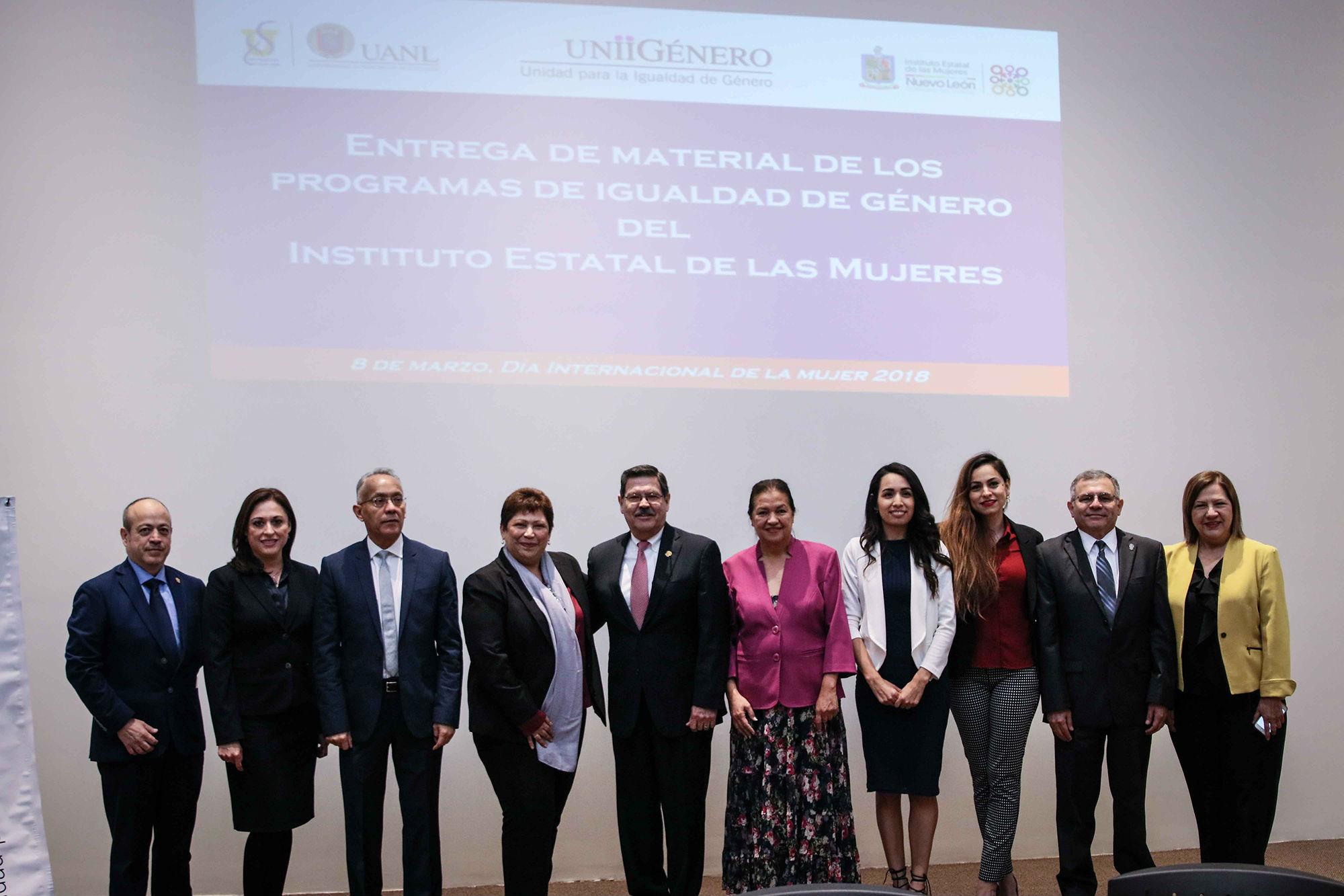 Enlaces de Igualdad de Género en la UANL