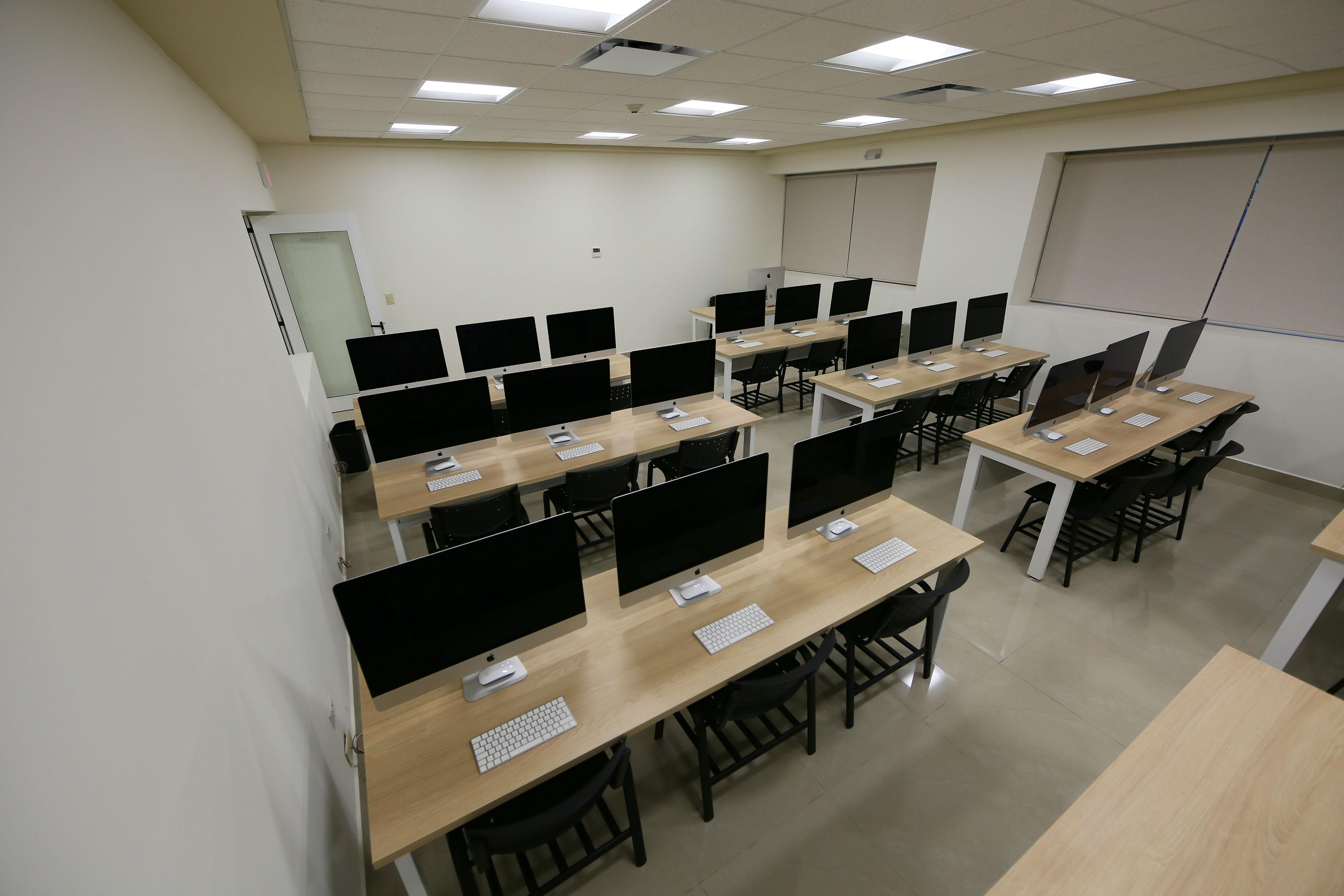 Equipo de cómputo para estudiantes de diseño gráfico y lenguaje y producción audiovisual