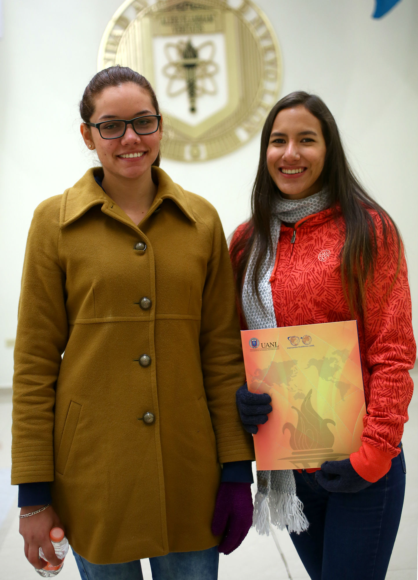 Estudaintes de Colombia y Perú estudiarán en la Facultad de Contaduría Pública y Administración