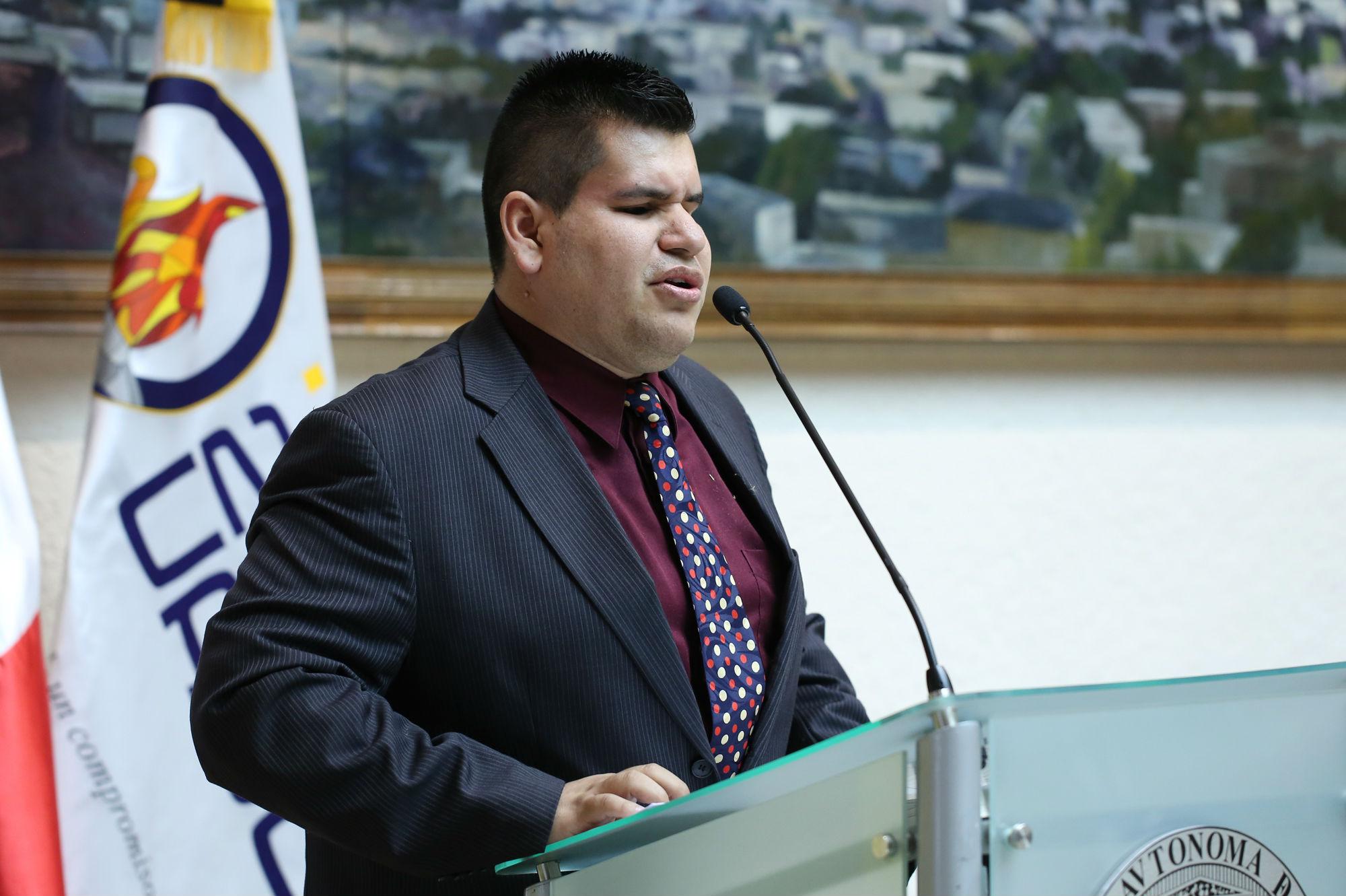 Delfino Ojeda Rivas, reflexionó acerca del tema de la inclusión en la actualidad