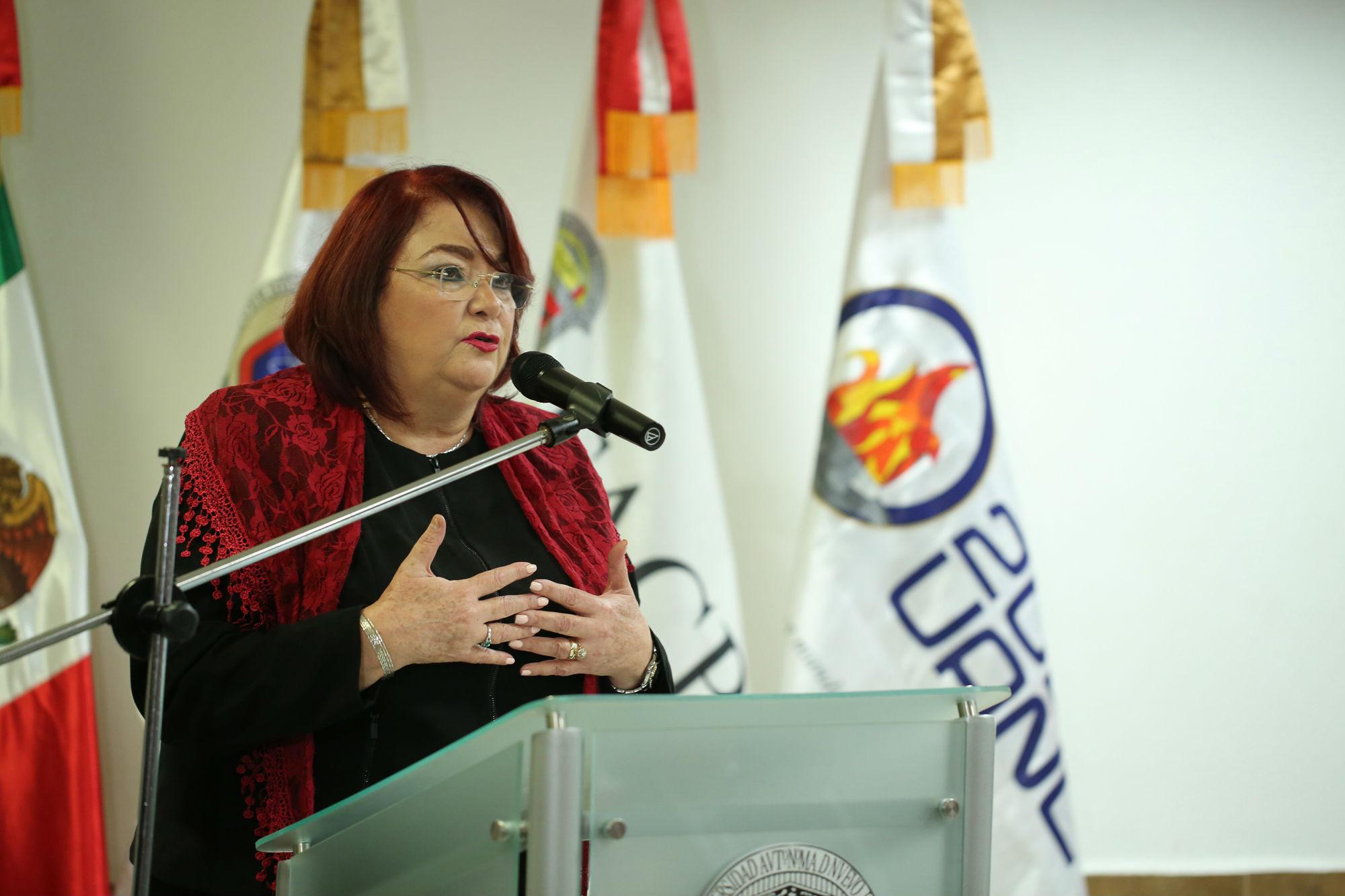 María Eugenia García de la Peña, Directora de la Facultad de Contaduría Pública y Administración