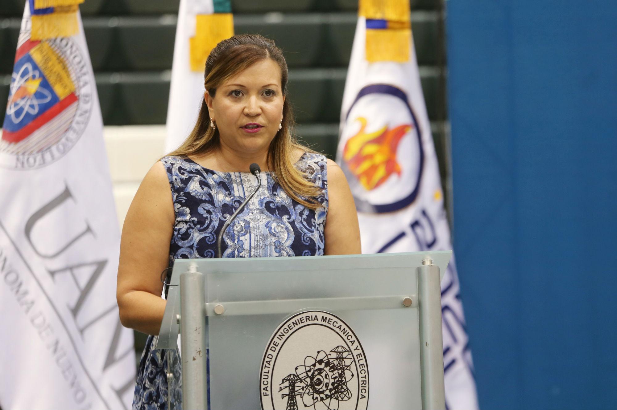 Patricia del Carmen Zambrano Robledo, Directora de Investigación de la Facultad de Ingeniería Mecánica y Eléctrica