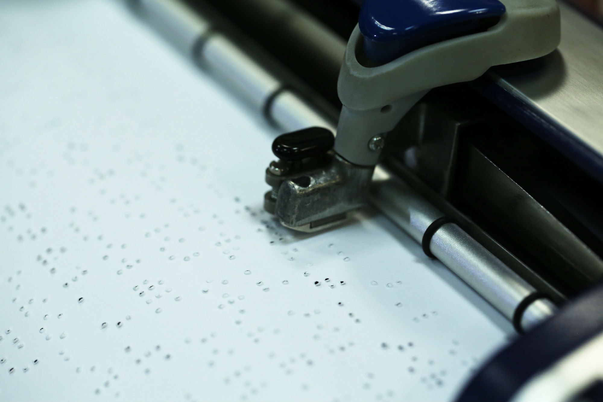 Máquina de escribir braile