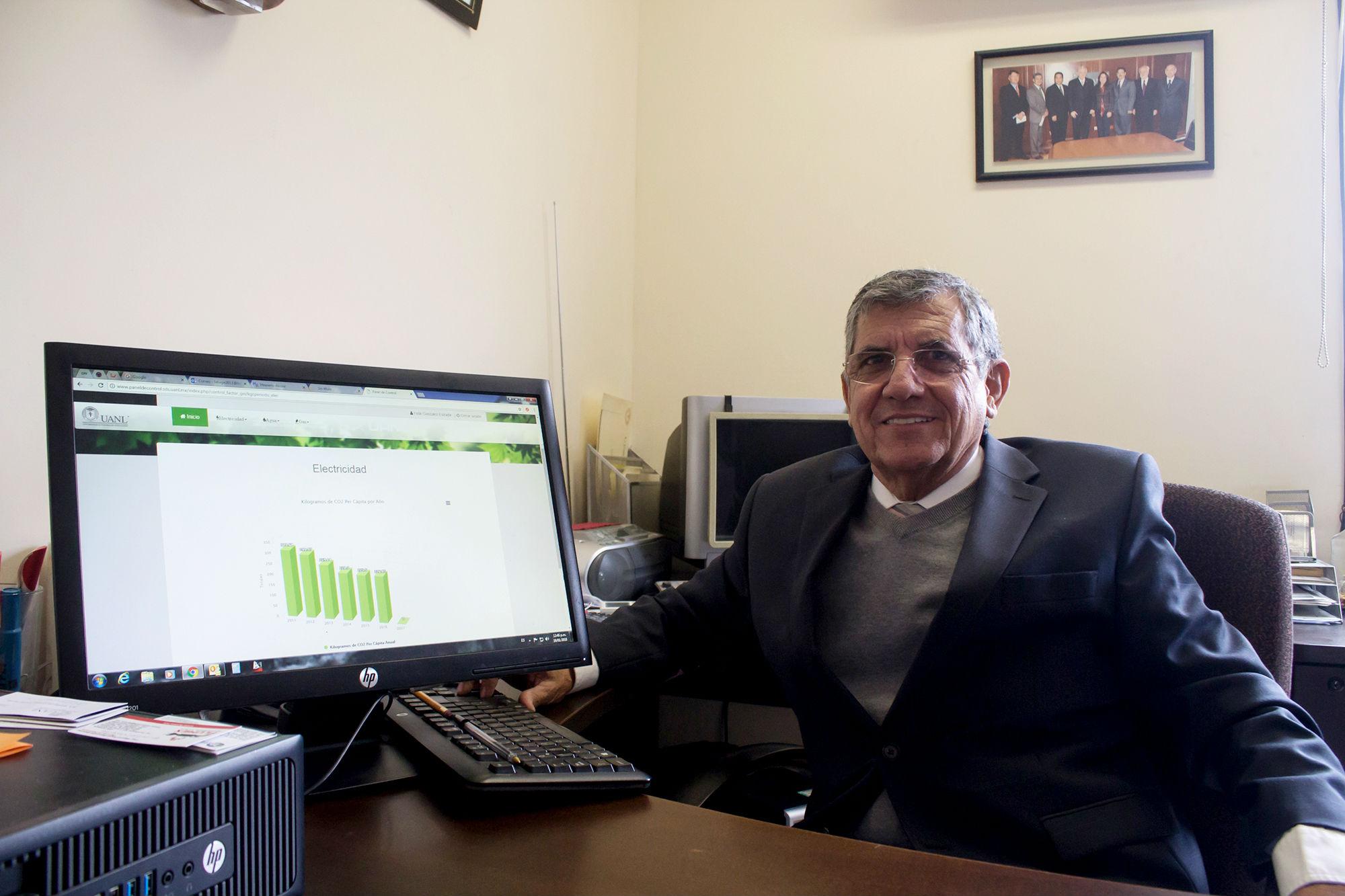 Félix González Estrada, Director de Infraestructura para la Sustentabilidad de la UANL