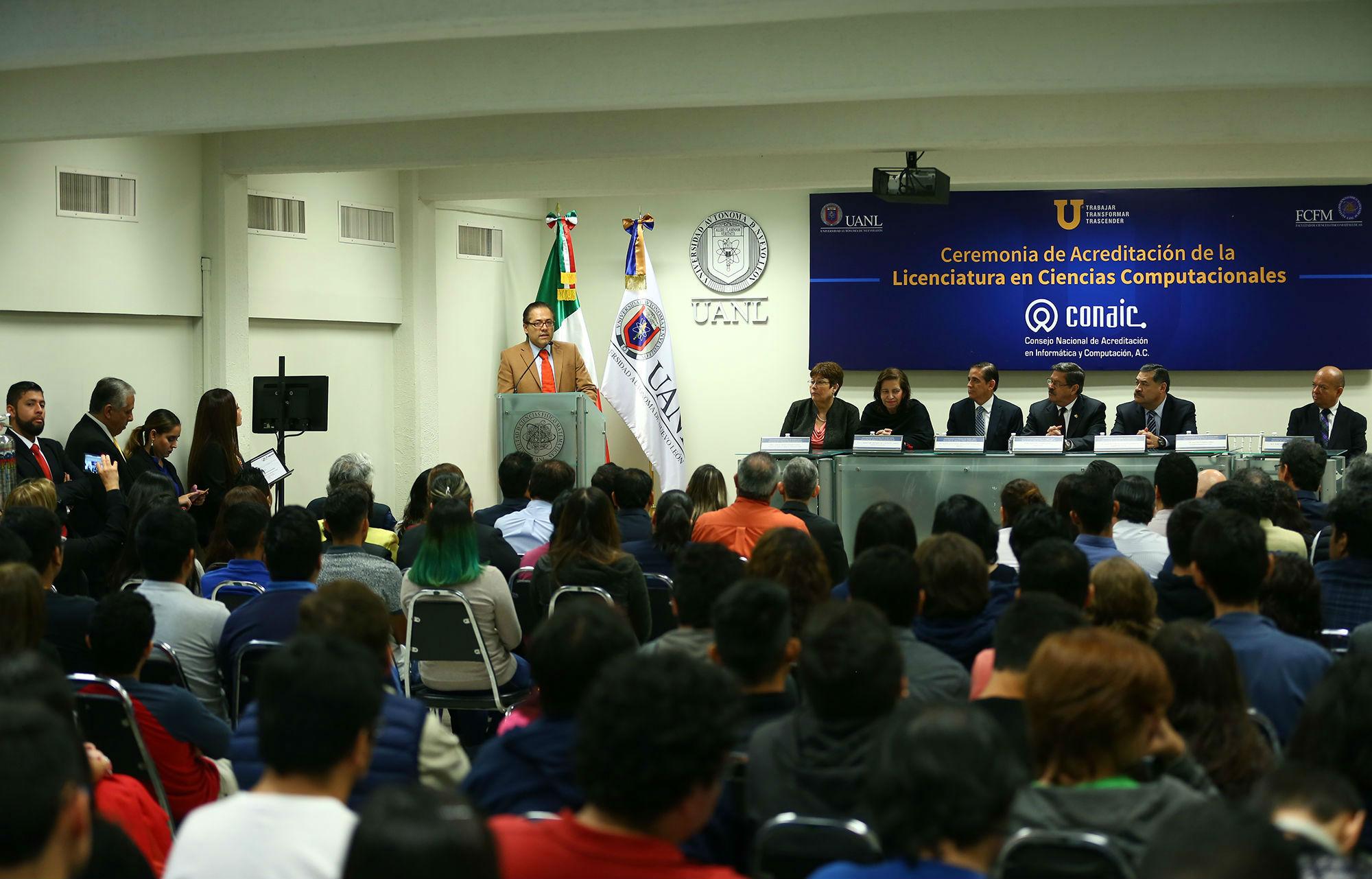 Francisco Javier Álvarez, del Consejo Nacional de Acreditación en Informática y Computación