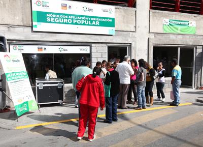 Seguro Popular Otorga 43 Millones De Pesos Universidad