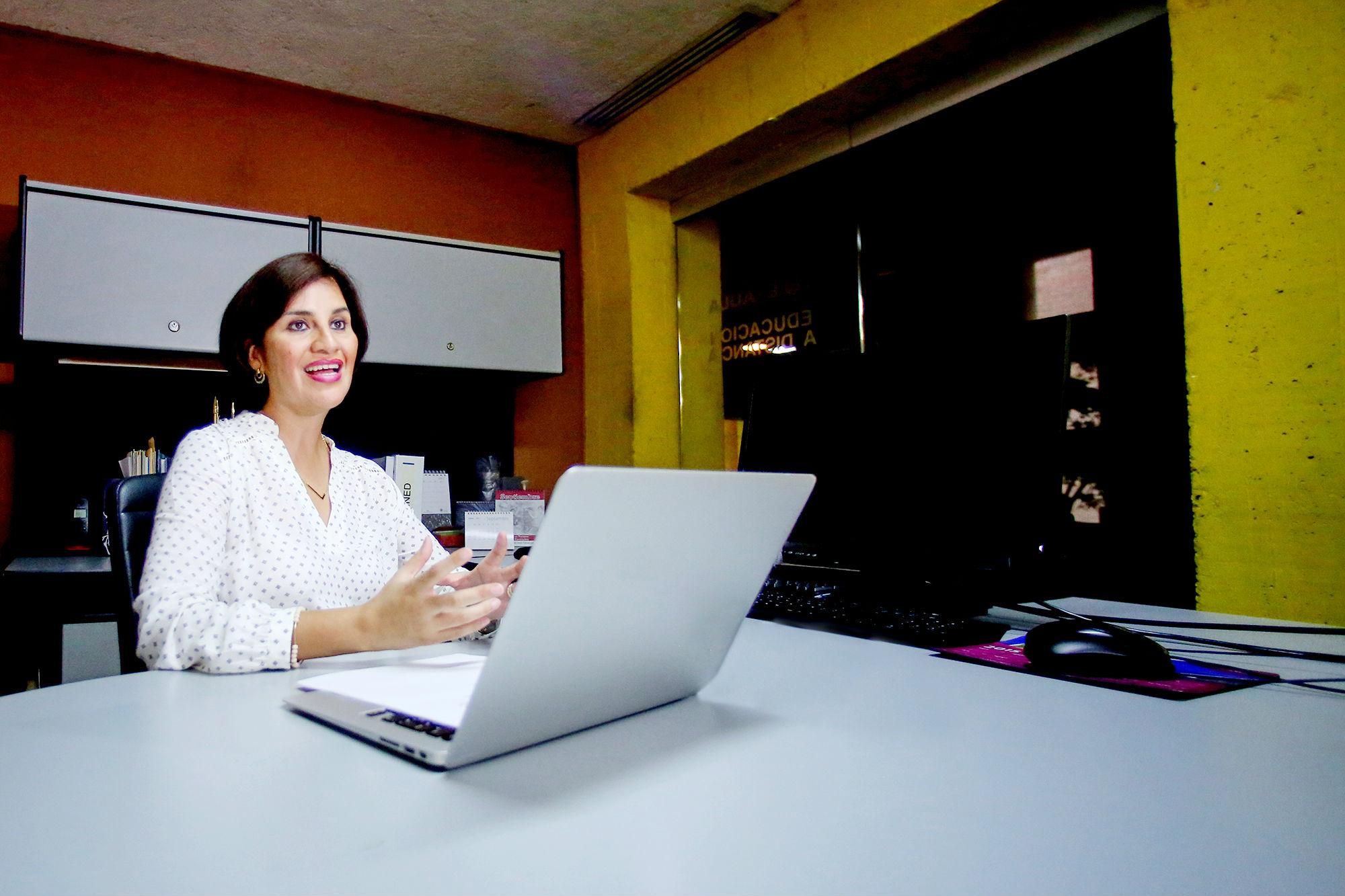 Lucero Cavazos Salazar, Directora de Educación Digital de la UANL