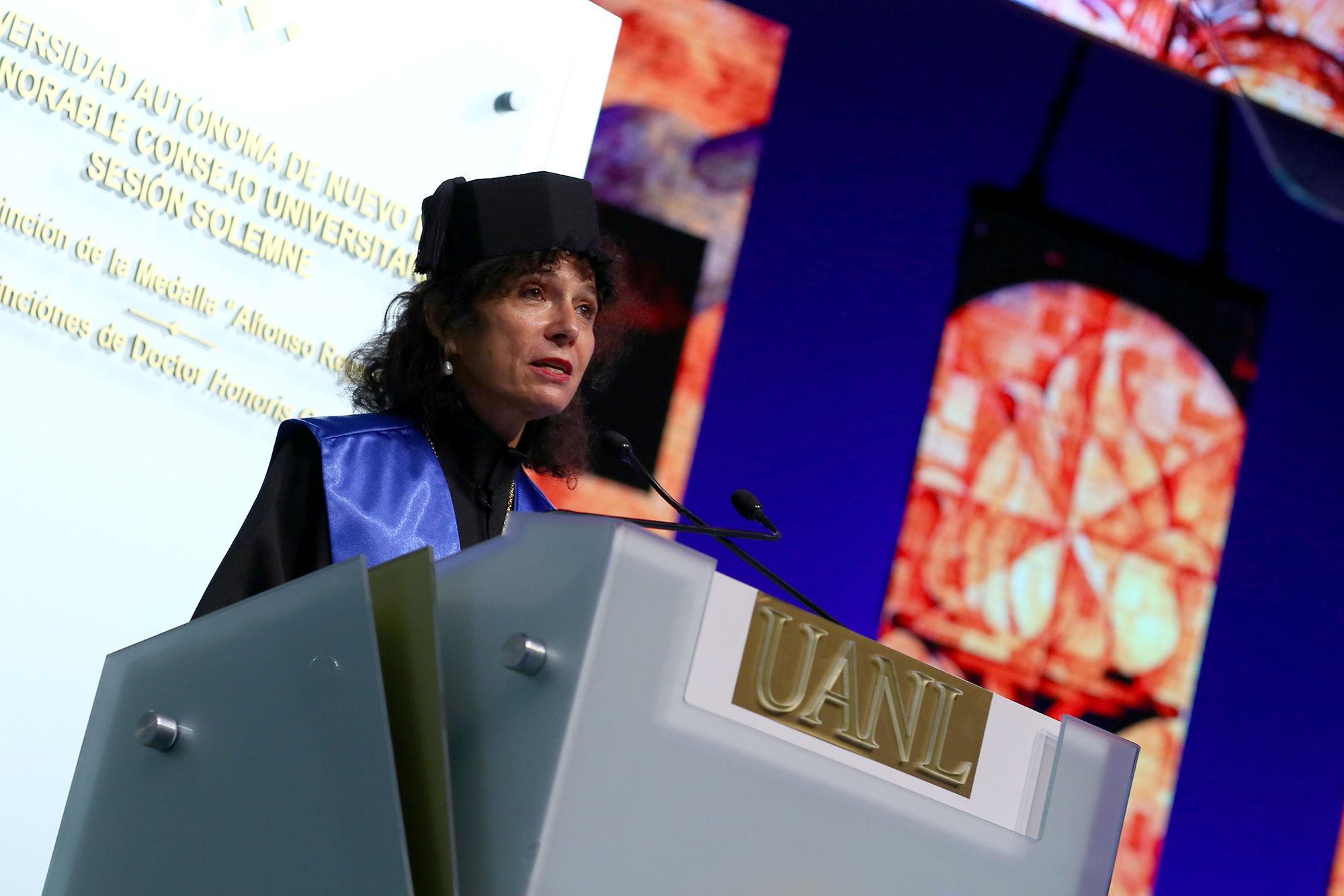 Mensaje de la Dra. Brigitte Plateau