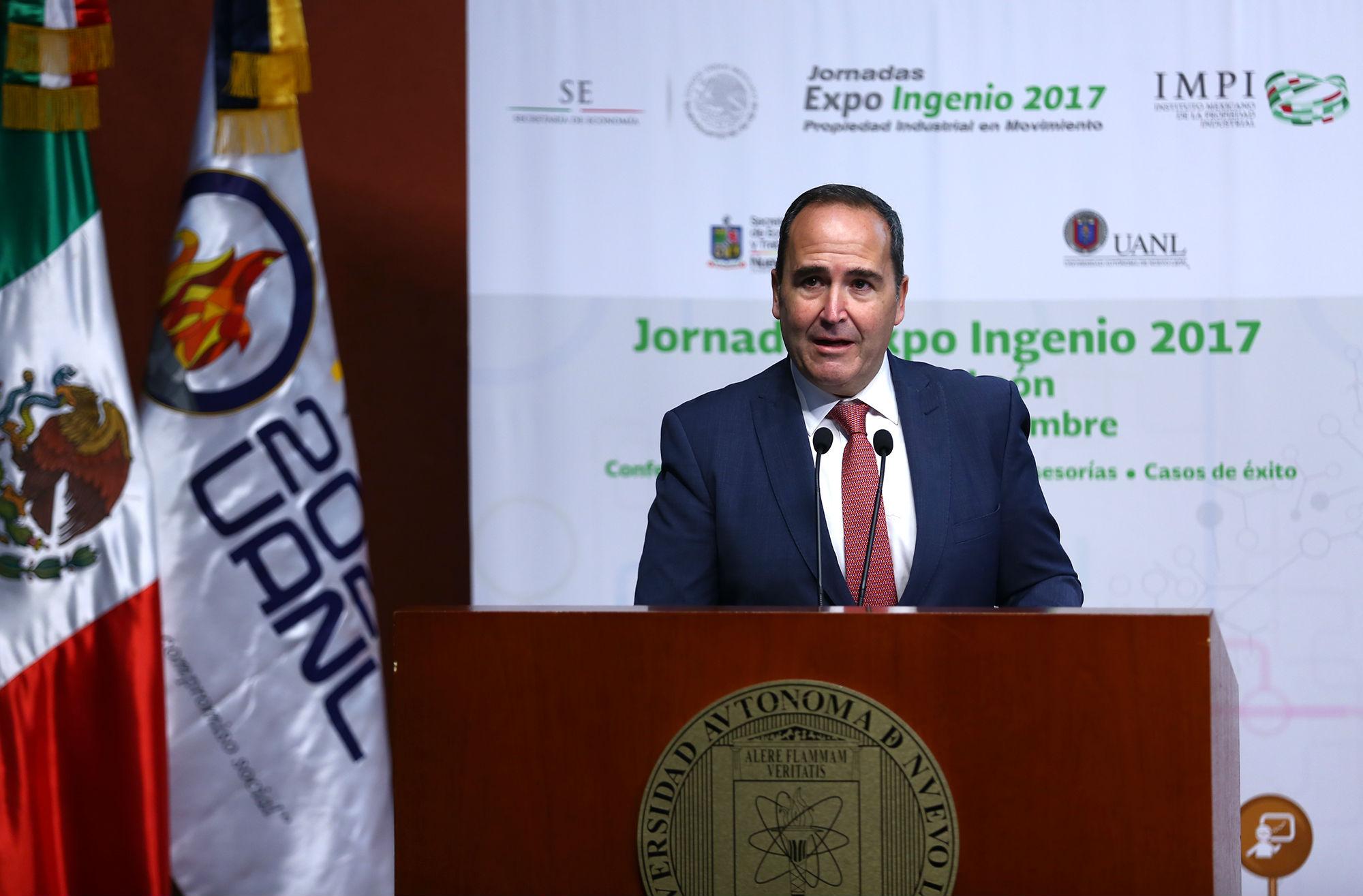 Miguel ángel Margáin, Director General del Instituto Mexicano de la Propiedad Intelectual