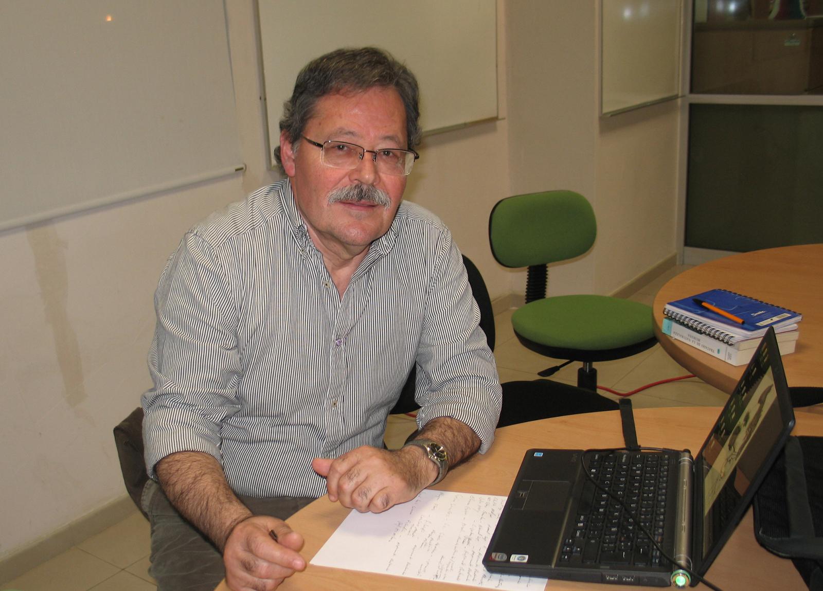 Miguel de la Torre, profesor de la Facultad de Filosofía y Letras