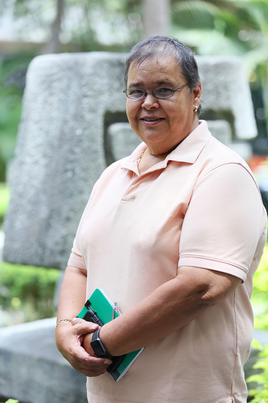 Minerva Salinas Peña, asesora pedagógica del posgrado