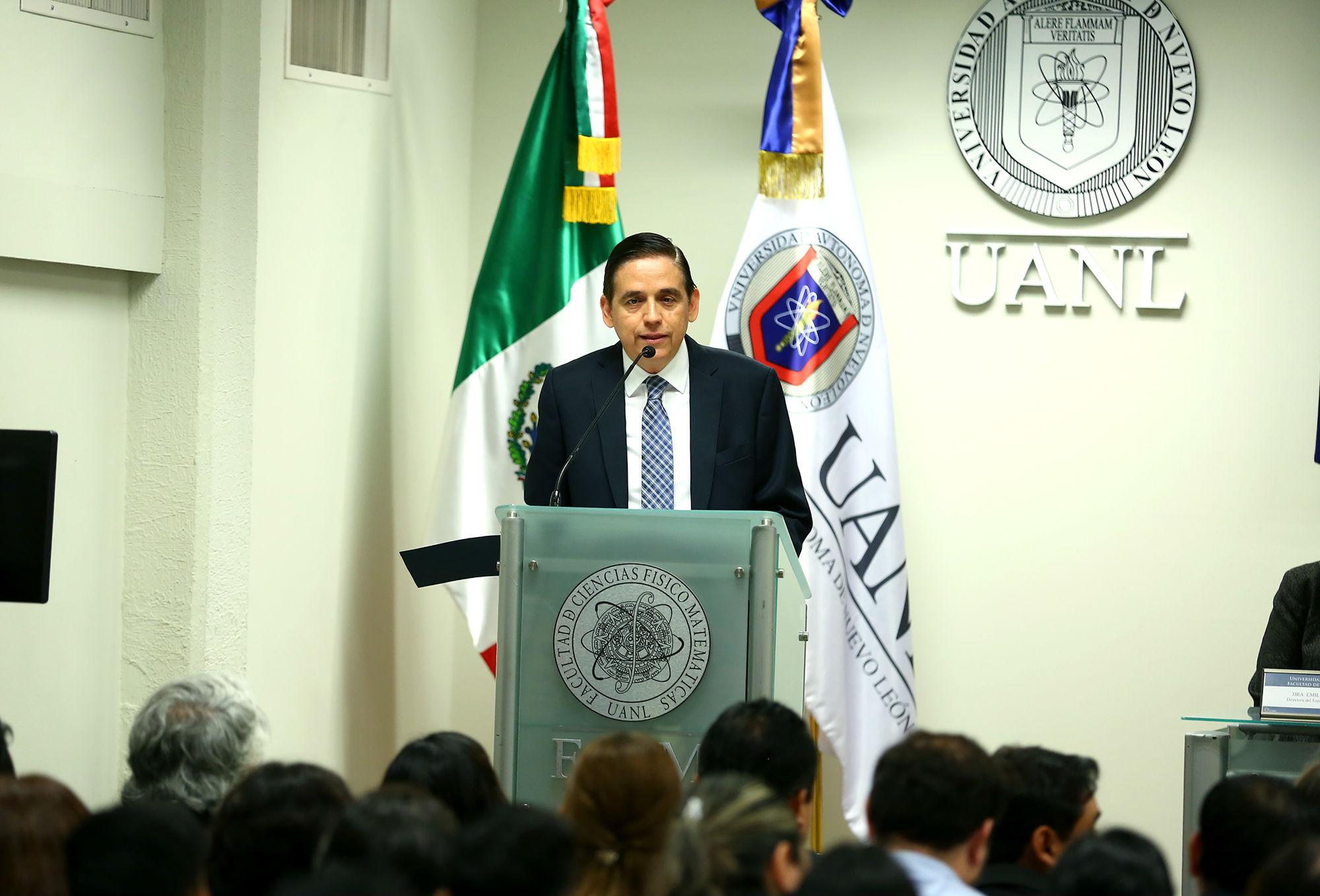 Rogelio Juvenal Sepúlveda, Director de la Facultad de Ciencias Físico Matemáticas