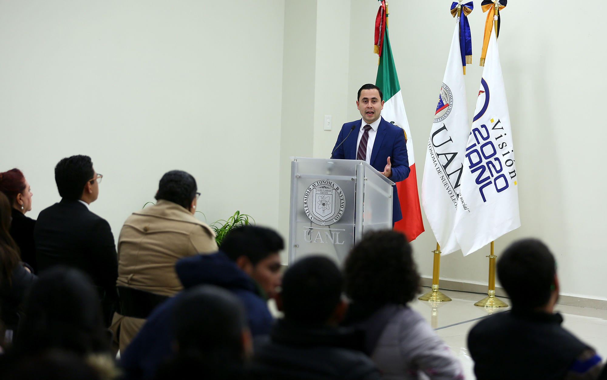 Luis Rolando Hernández, Director de Actividades Estudiantiles
