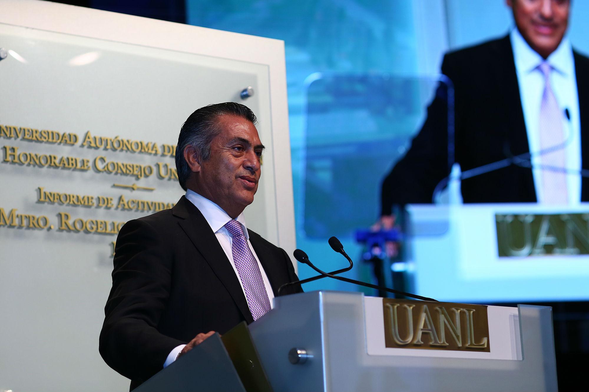 Jaime Rodríguez Calderón, Gobernador de Nuevo León