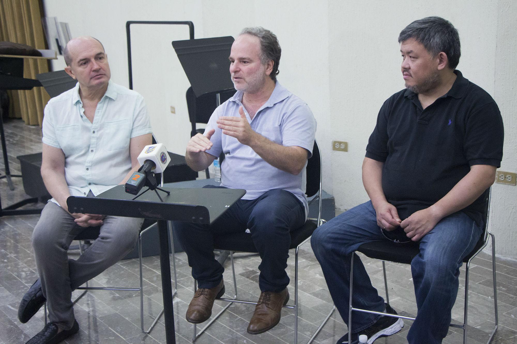 Rueda de prensa del último concierto de la Segunta Temporada 2017 de la OSUANL
