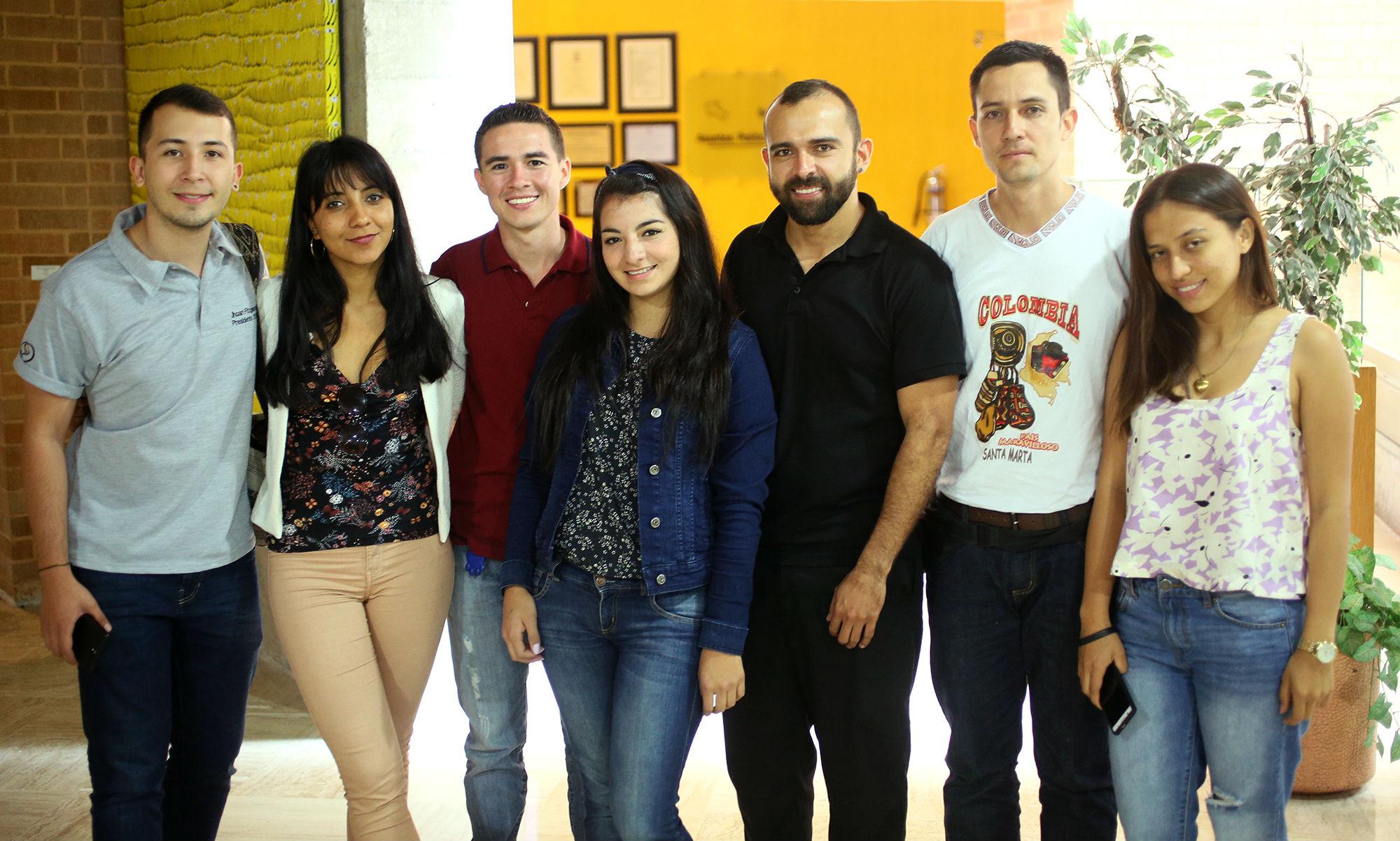 Estudiantes colombianos estarán en la Máxima Casa de Estudios