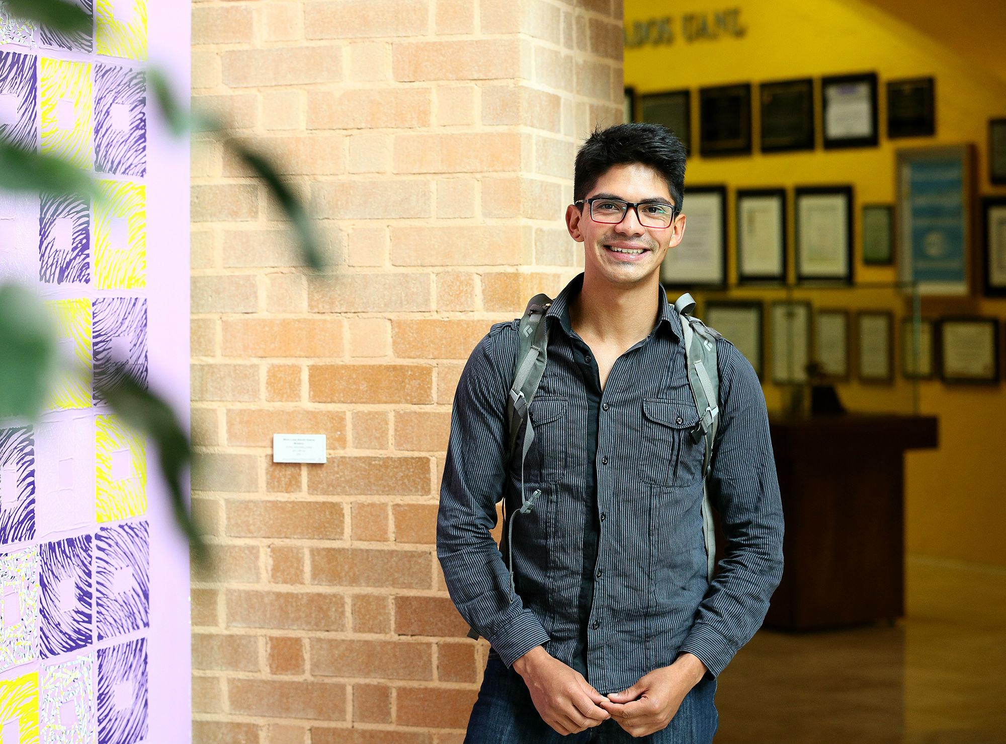 Víctor Morales, de Chile, estudiará en la Facultad de Ciencias Forestales
