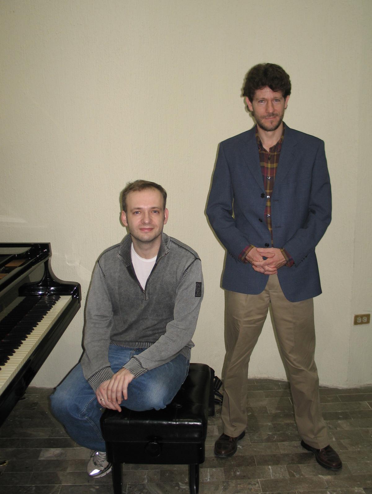 Martin Kasik, pianista invitado