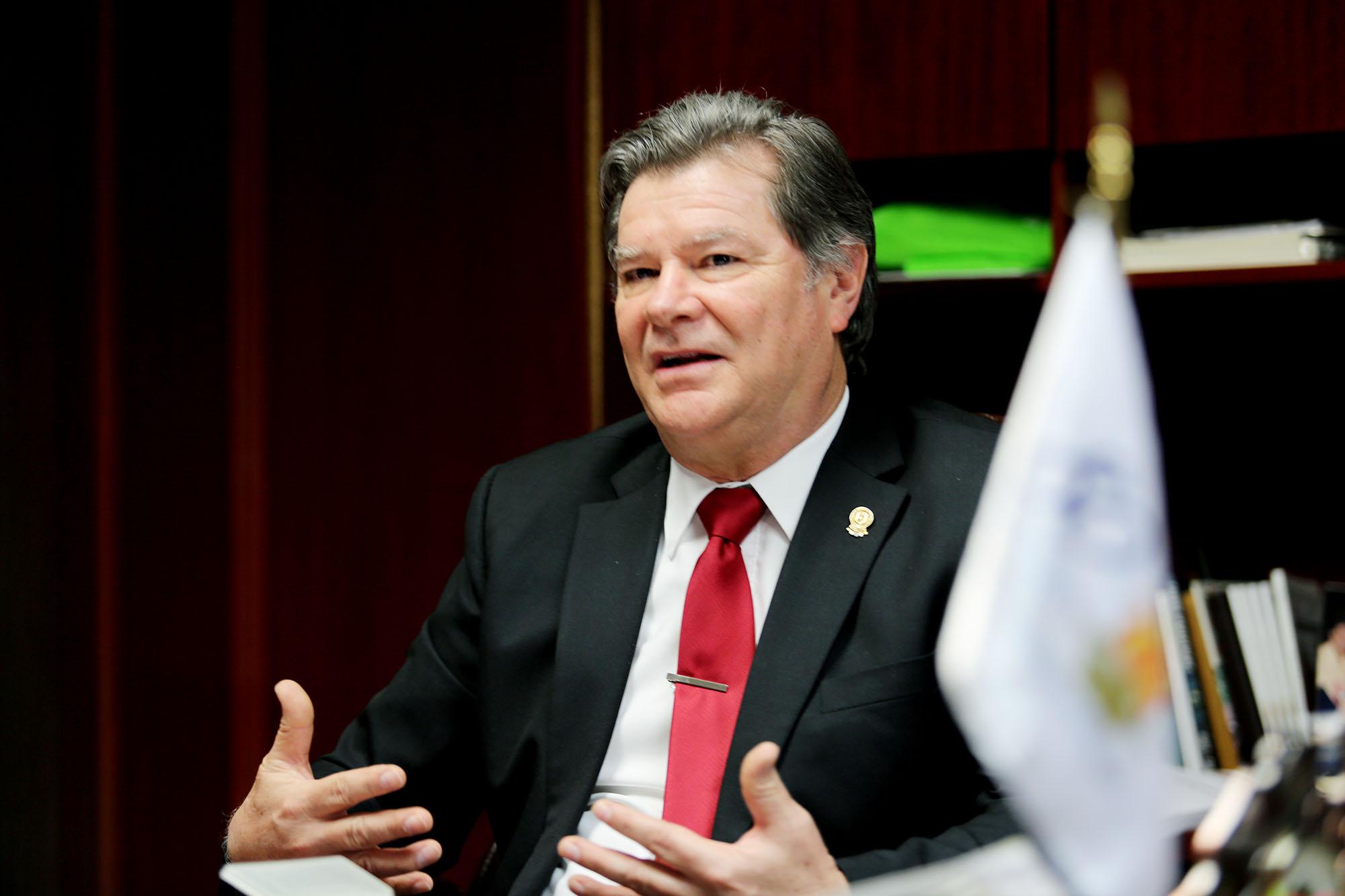 Alejandro del Bosque González, Director de la Facultad de Agronomía