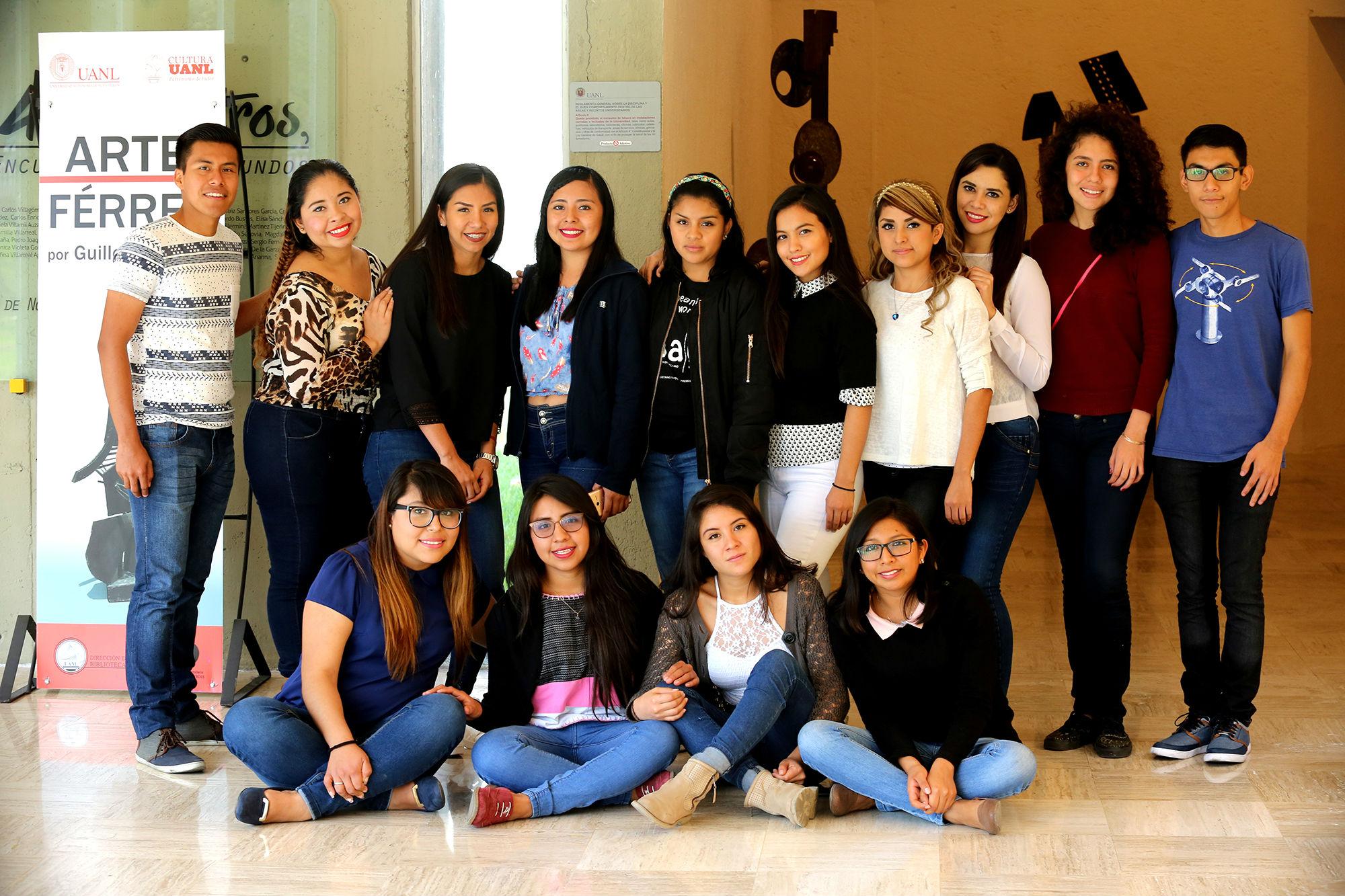 Estudiantes de diferentes partes de México realizan un intercambio nacional en la UANL