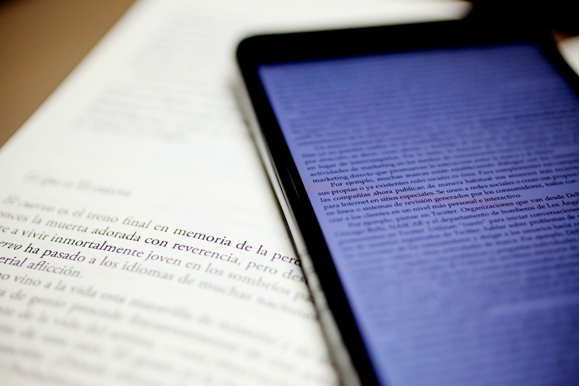 Libro impreso y digital