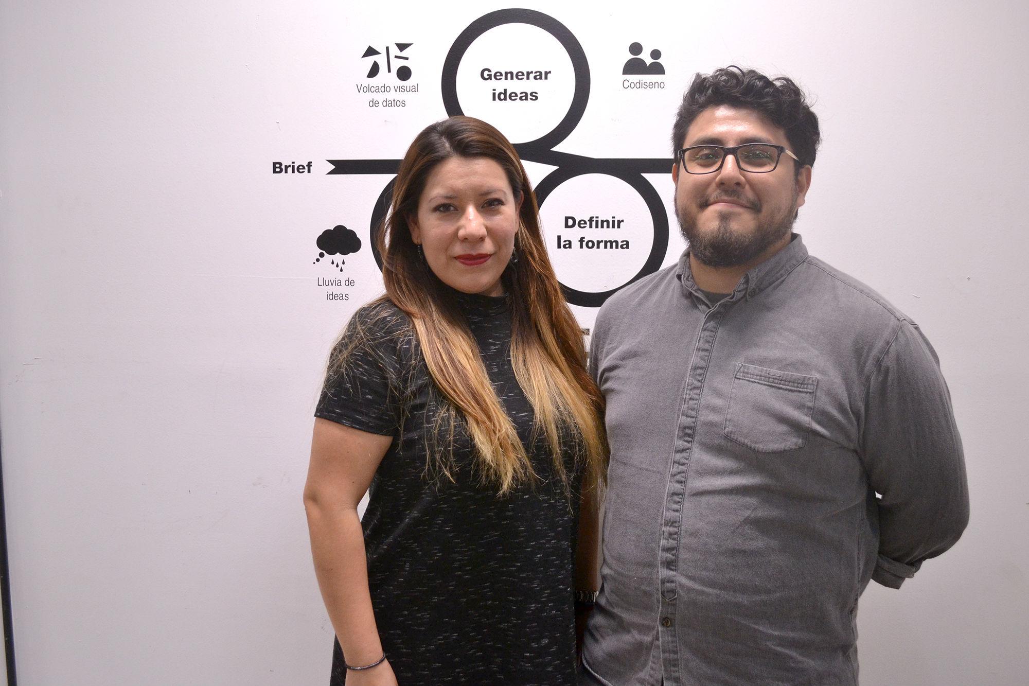 Gabriela Castillo y Miguel Ángel García Hernández